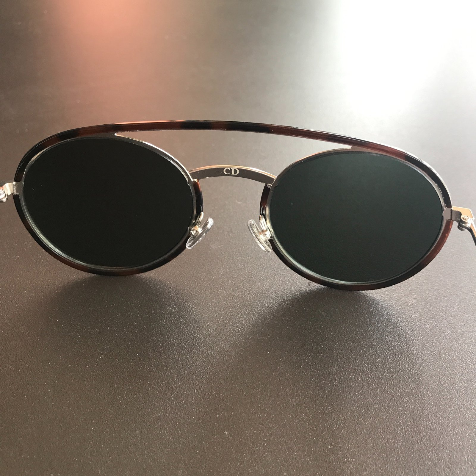 0df58811be Facebook · Pin This. Christian Dior Dior synthesis sunglasses Sunglasses  Metal Brown ...
