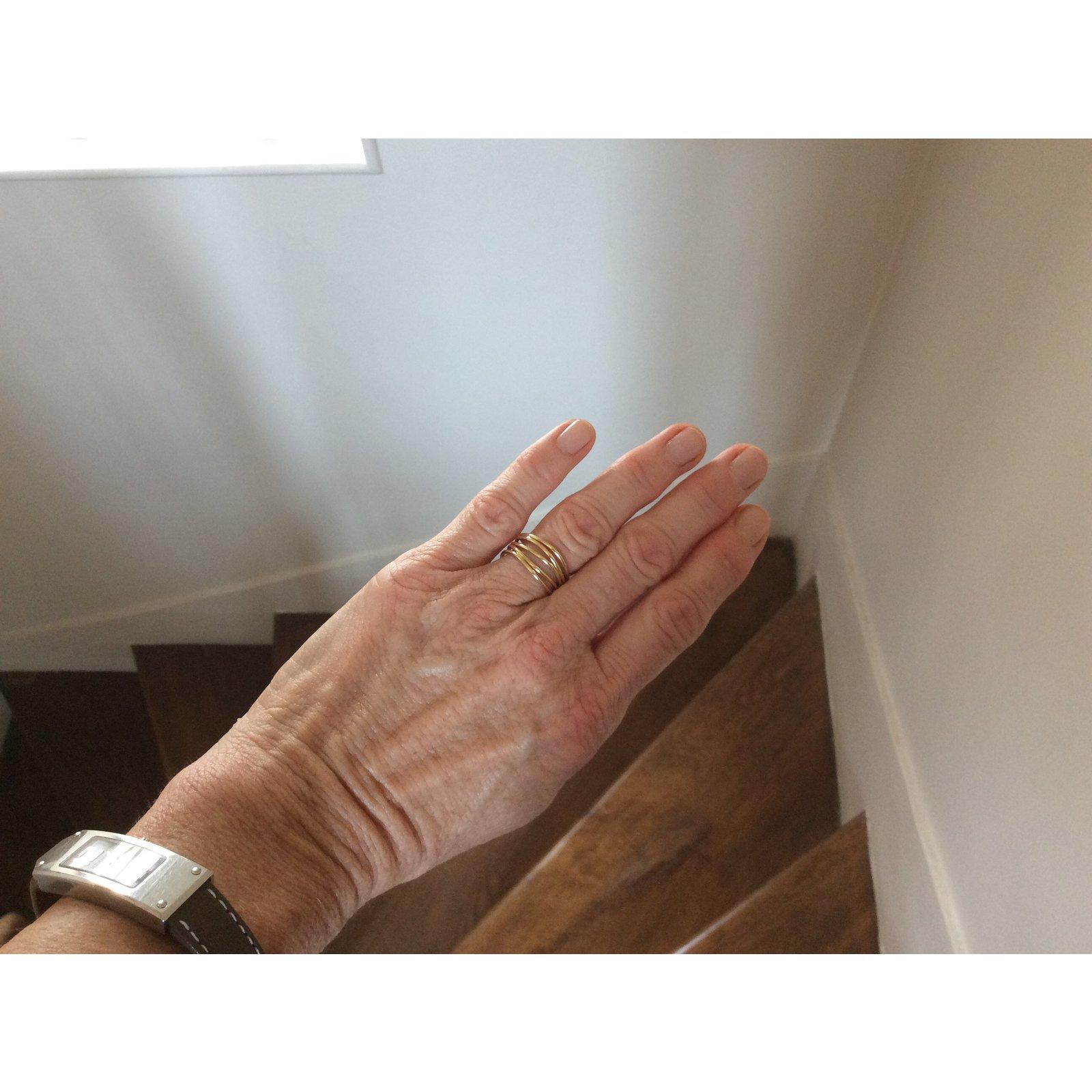 9ae7f8afb Tiffany & Co Wave Ring Rings Yellow gold Golden ref.47384 - Joli Closet