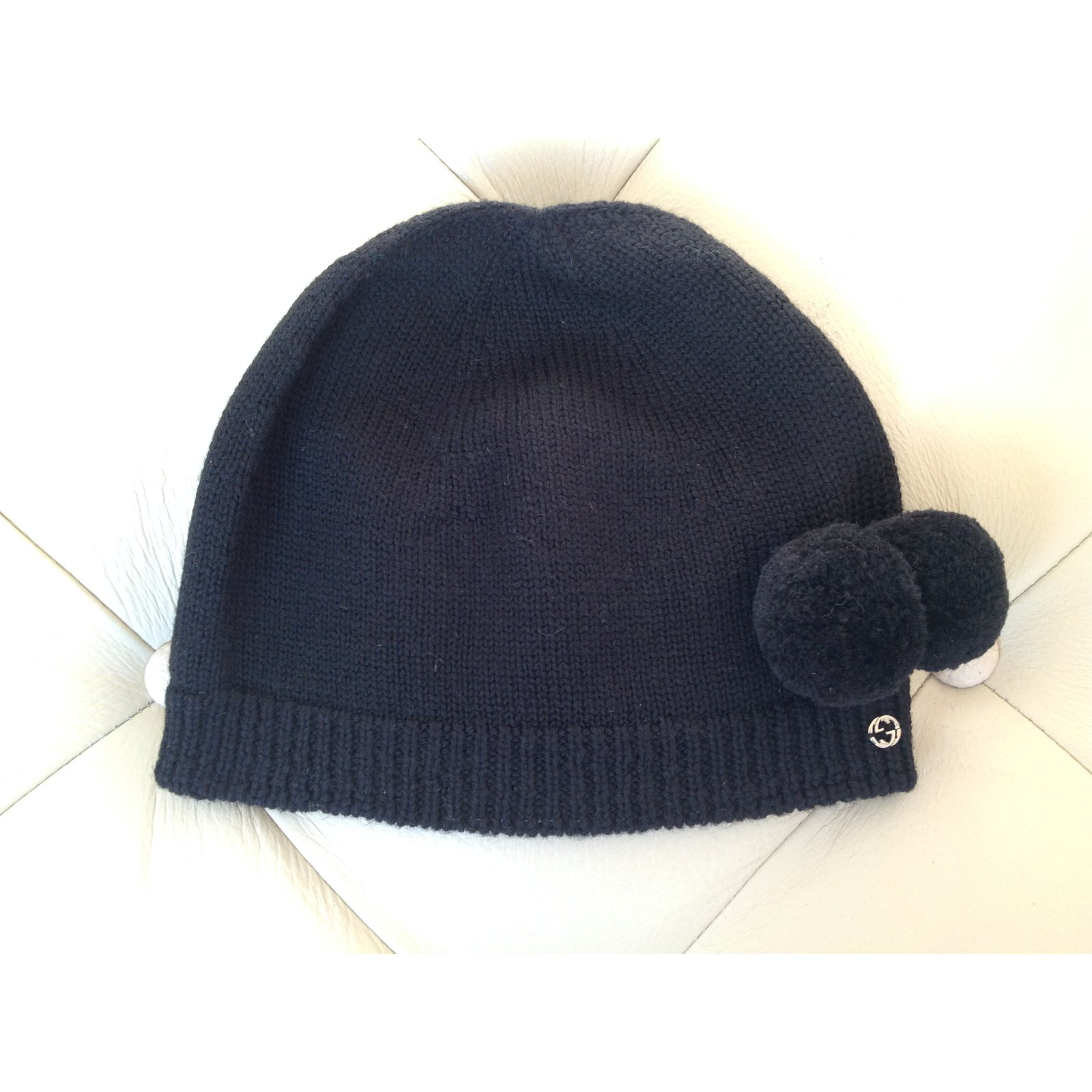 Gucci Gucci wool hat Hats Wool Black ref.47393 - Joli Closet 3662d44e31f