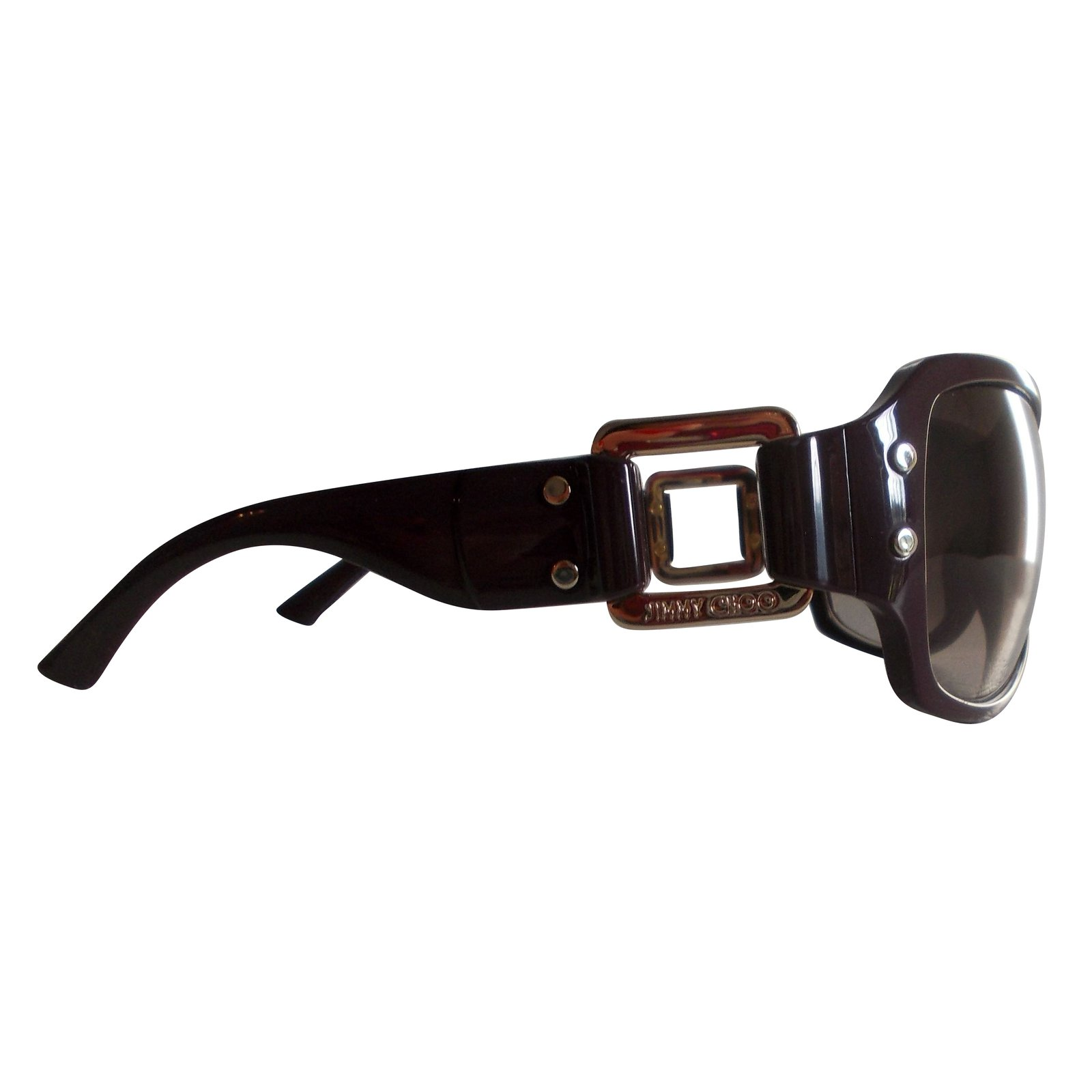 611106081c2 Jimmy Choo Sunglasses Sunglasses Acetate Prune ref.47737 - Joli Closet
