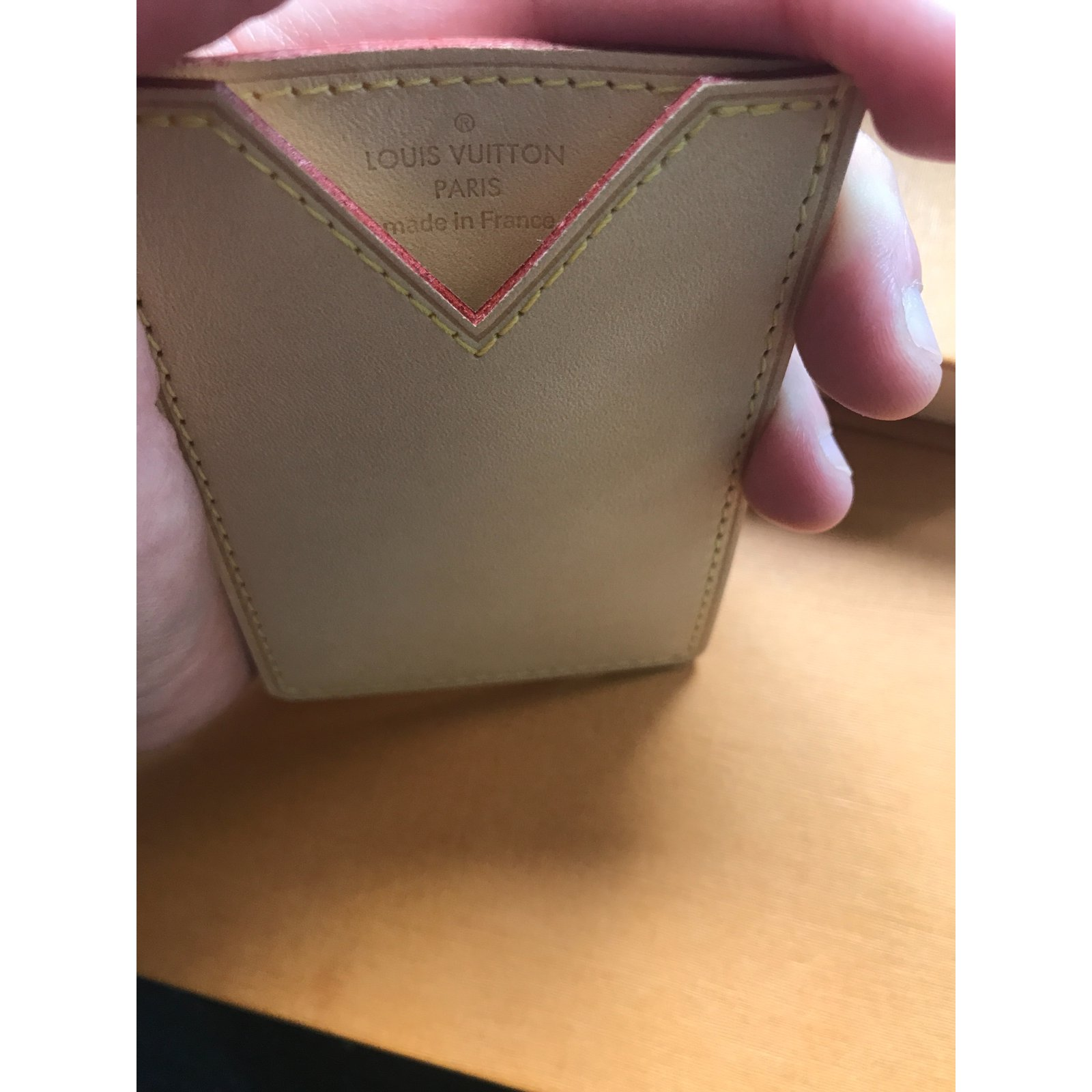 timeless design 6b432 e2b96 Vachetta Card holder