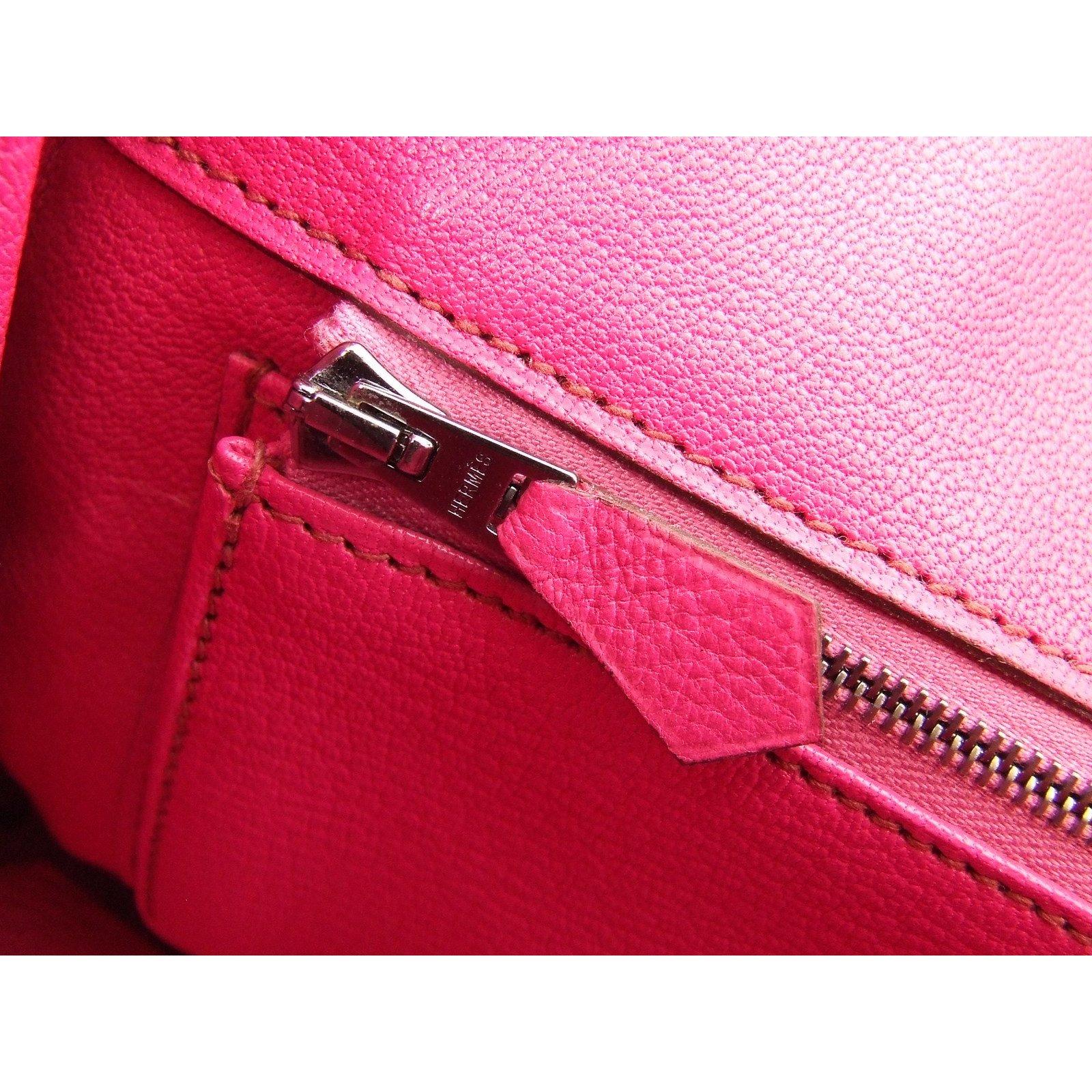 c85a42728447 Hermès Hermès Birkin 25 Handbags Exotic leather Pink ref.48556 - Joli Closet