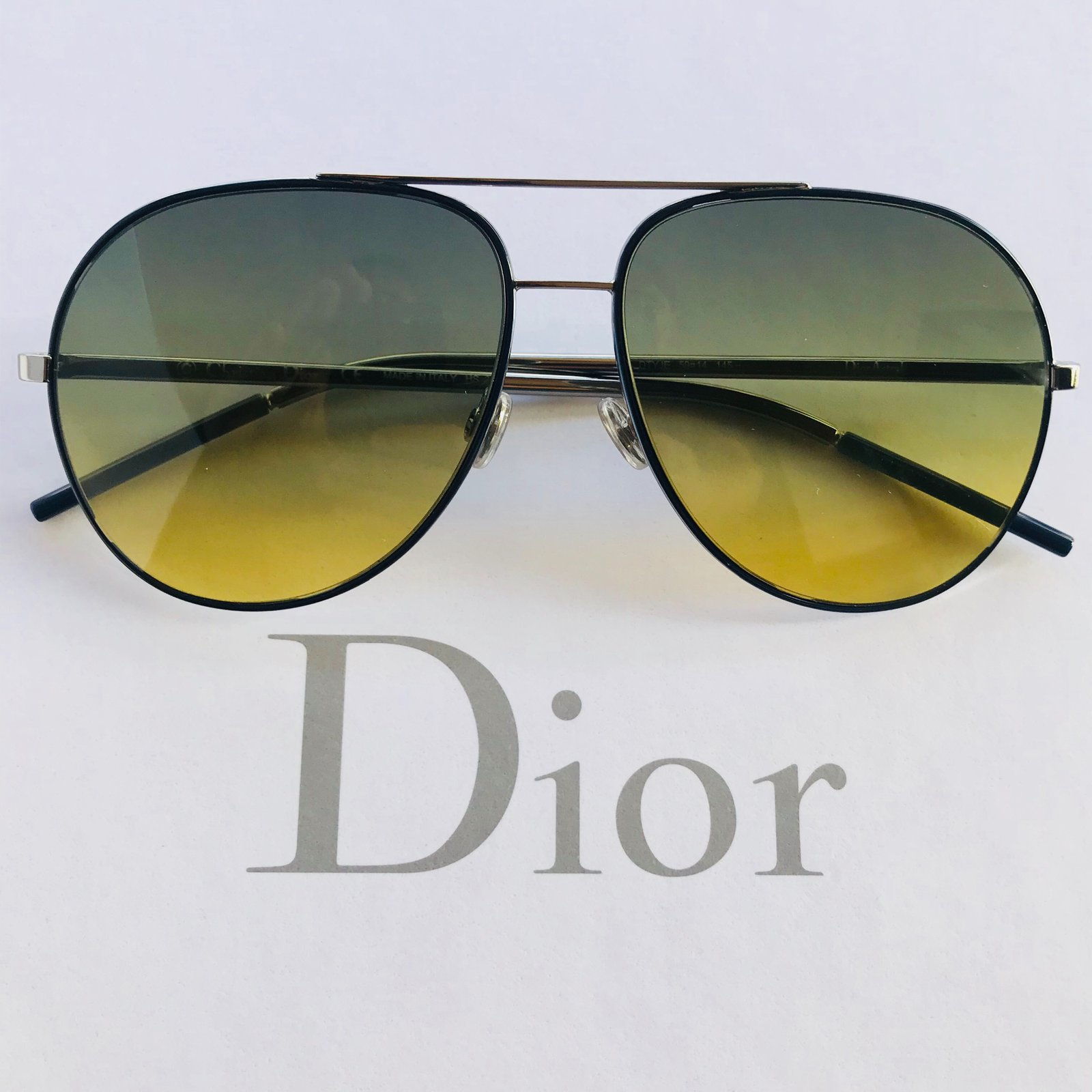 519f72c91e8 Christian Dior Dior sunglasses men Sunglasses Metal Silvery ref ...