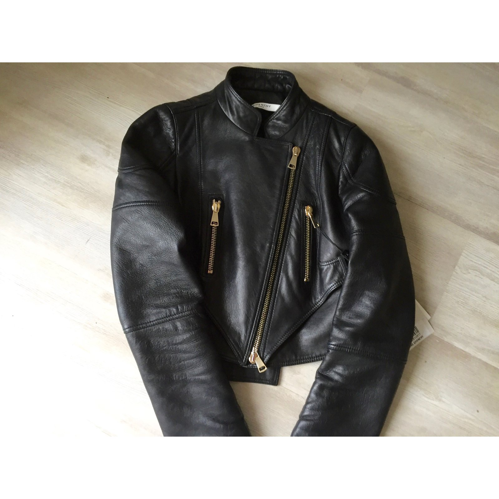 c1fca1c1d1441 Facebook · Pin This. Givenchy Jacket Jackets Leather Black ref.48898