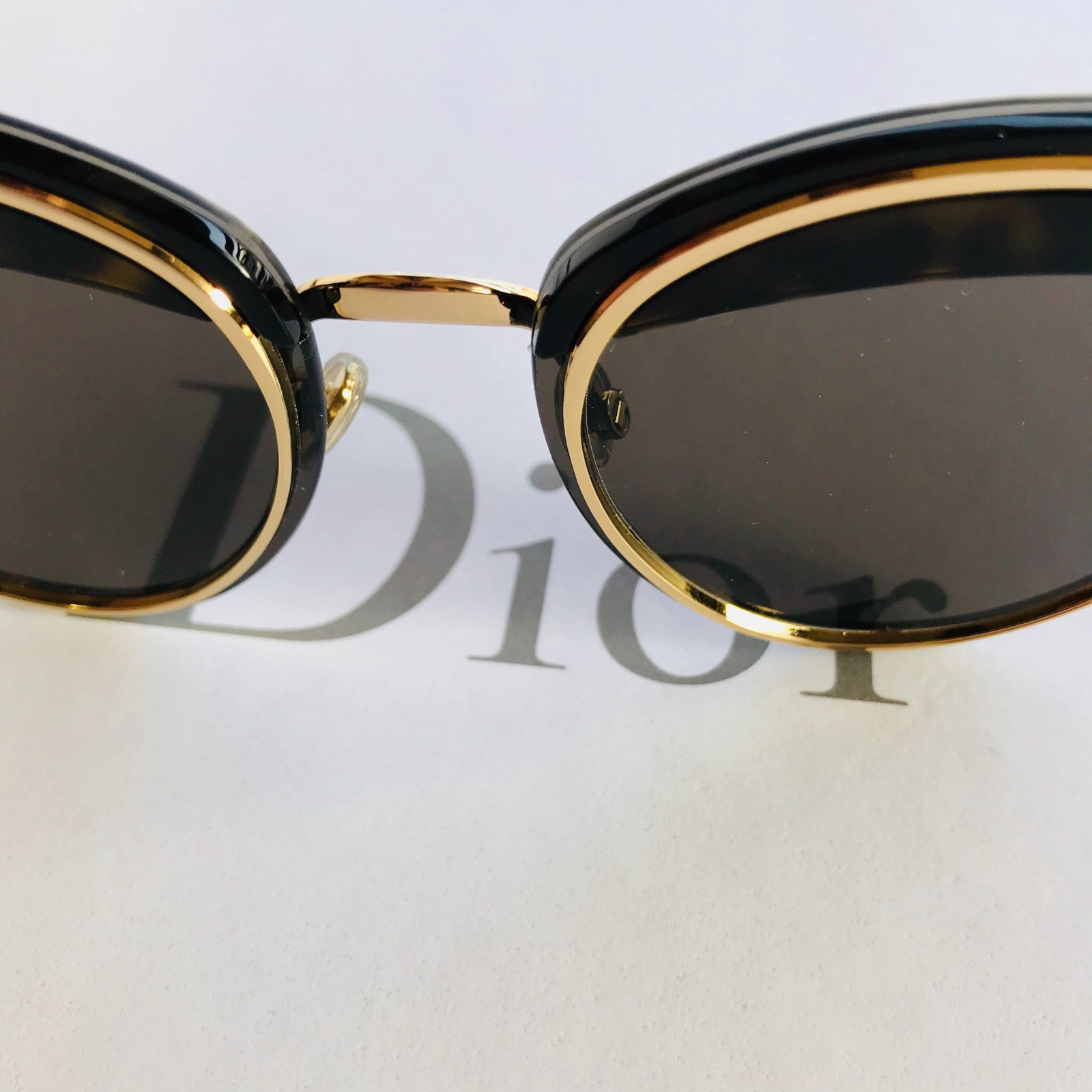d04be7576319b Dior Dior offset sunglasses Sunglasses Metal Black ref.48974 - Joli Closet