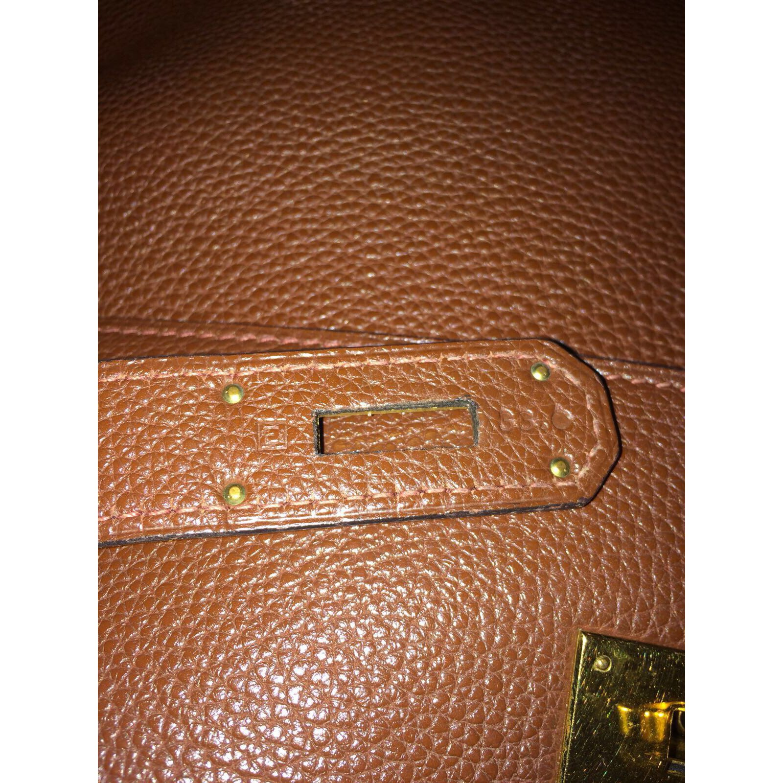 3cfd92ddcf04 ... czech hermès kelly 40 handbags leather brown ref.49002 joli closet  d4347 860ee