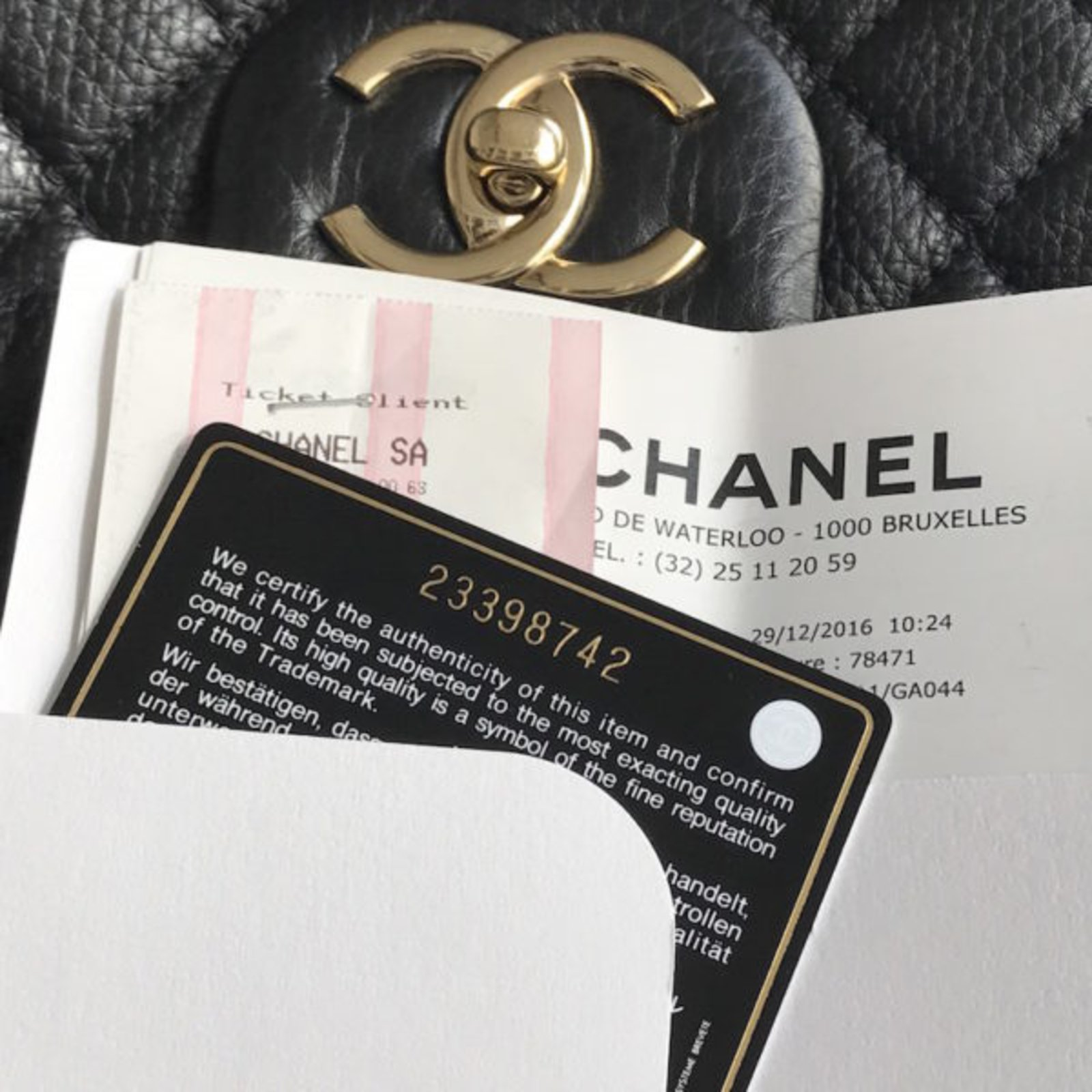 4325f5864692 Facebook · Pin This. Chanel Chanel Timeless XXL Travel bag Leather Black ...