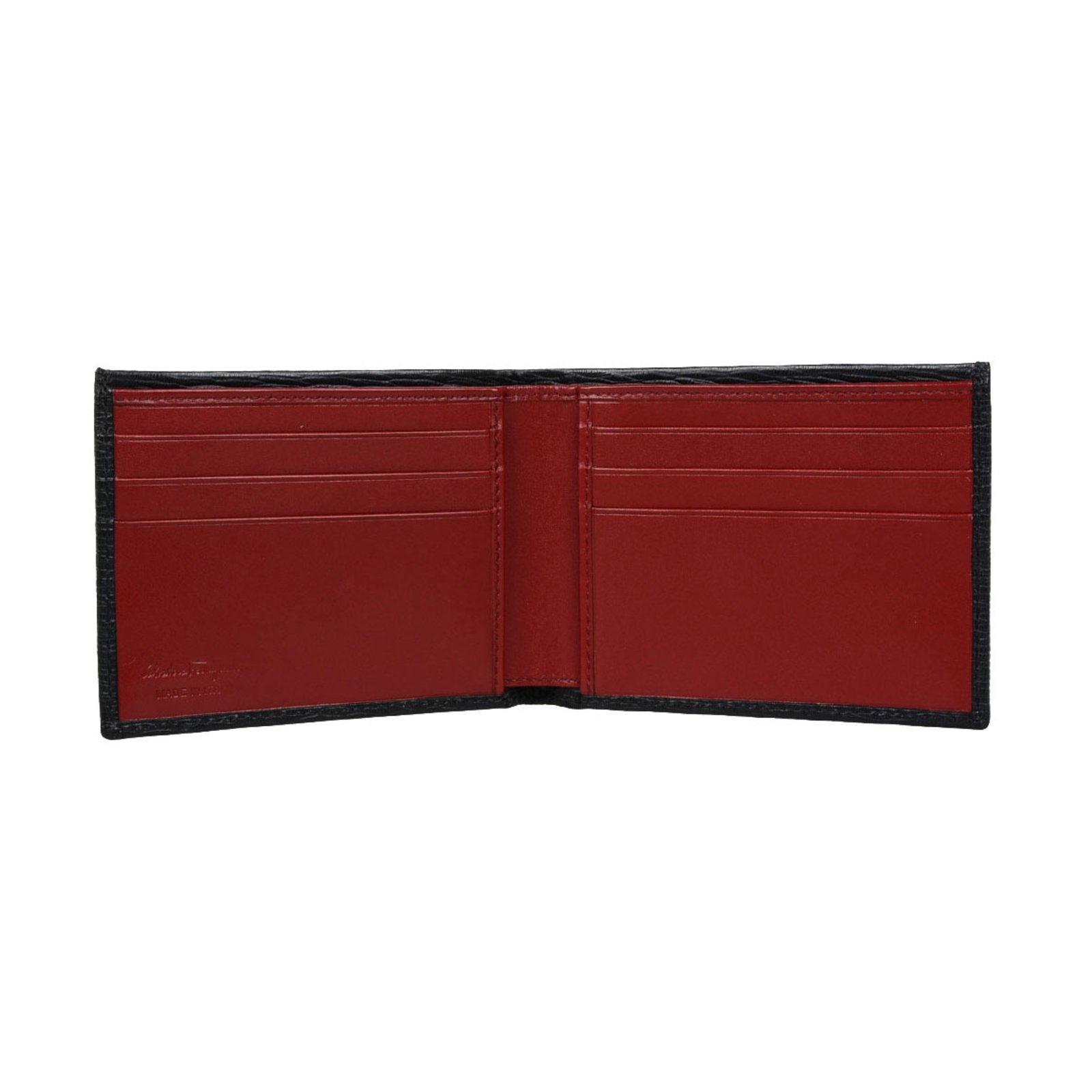 eba0fc418e24 Salvatore Ferragamo Men s wallet Wallets Small accessories Leather Black  ref.49463 - Joli Closet