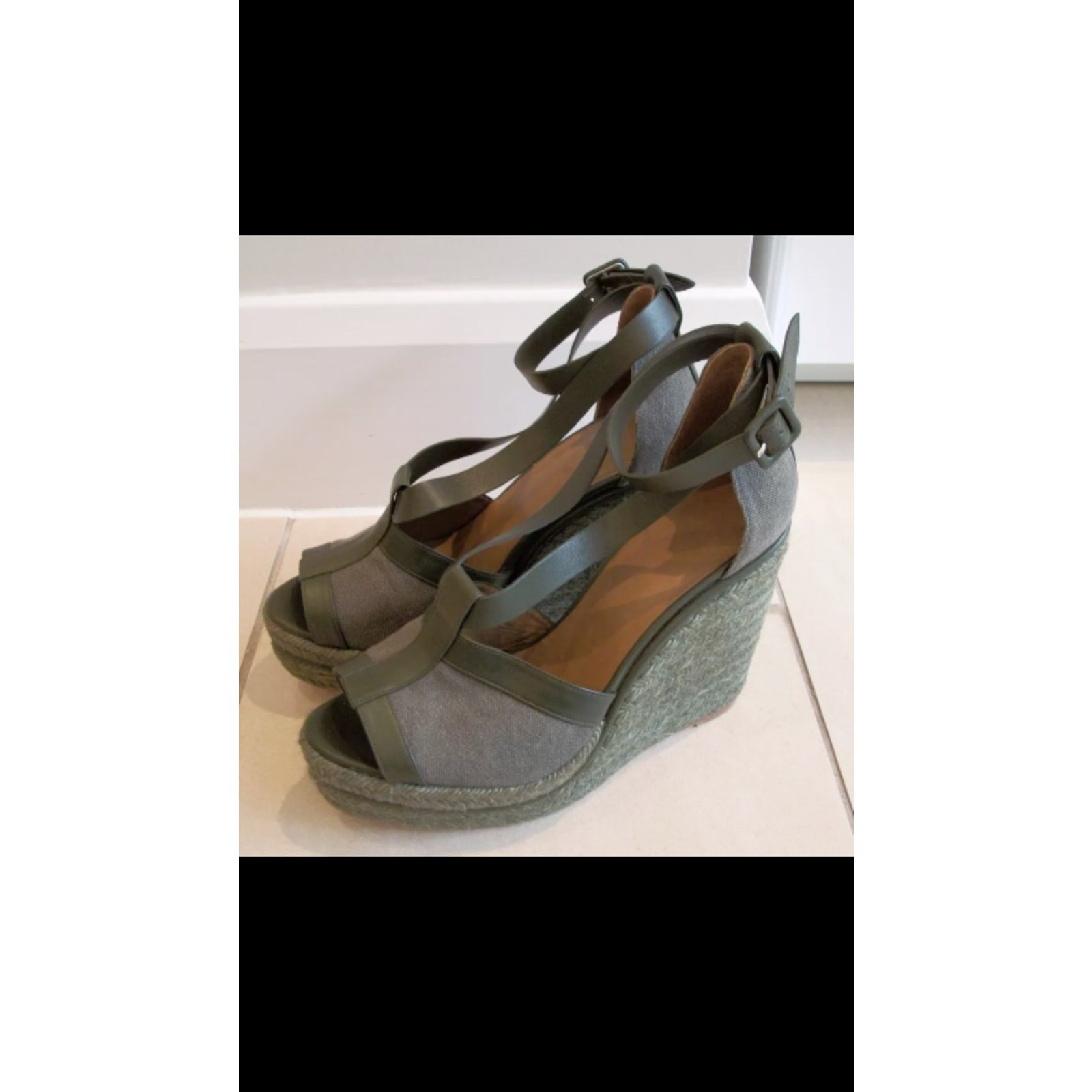 321255b027b4 Hermès Wedge mules Wedge mules Leather