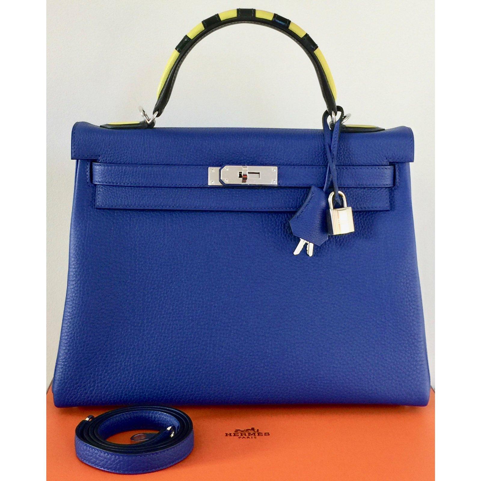 3f97a263f530 Hermès Kelly 32 Limited Edition Au Galop Handbags Leather Multiple ...