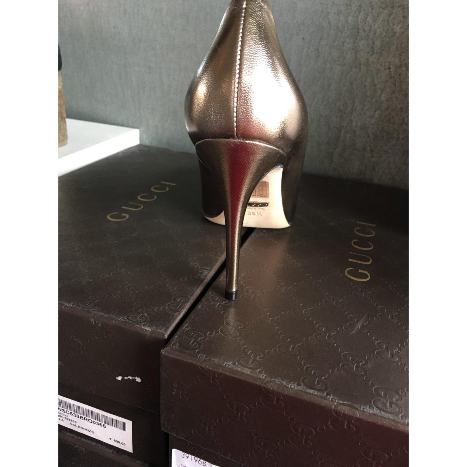 e196adf9b Gucci gucci pumps size 36,5 new Heels Leather Other ref.50442 - Joli Closet