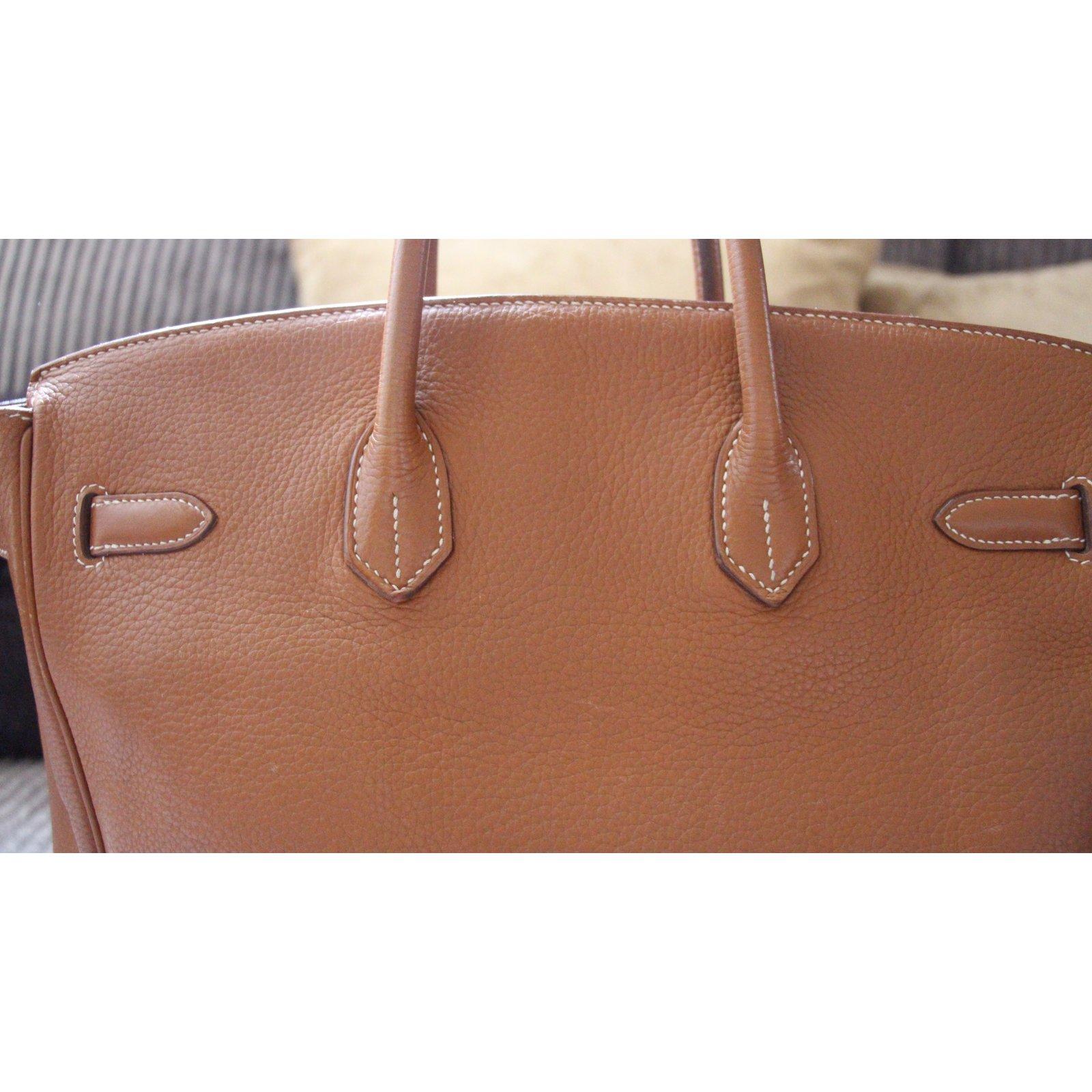 6a2afb5ef5 Hermès Birkin 35 Togo Handbags Leather Other ref.51221 - Joli Closet