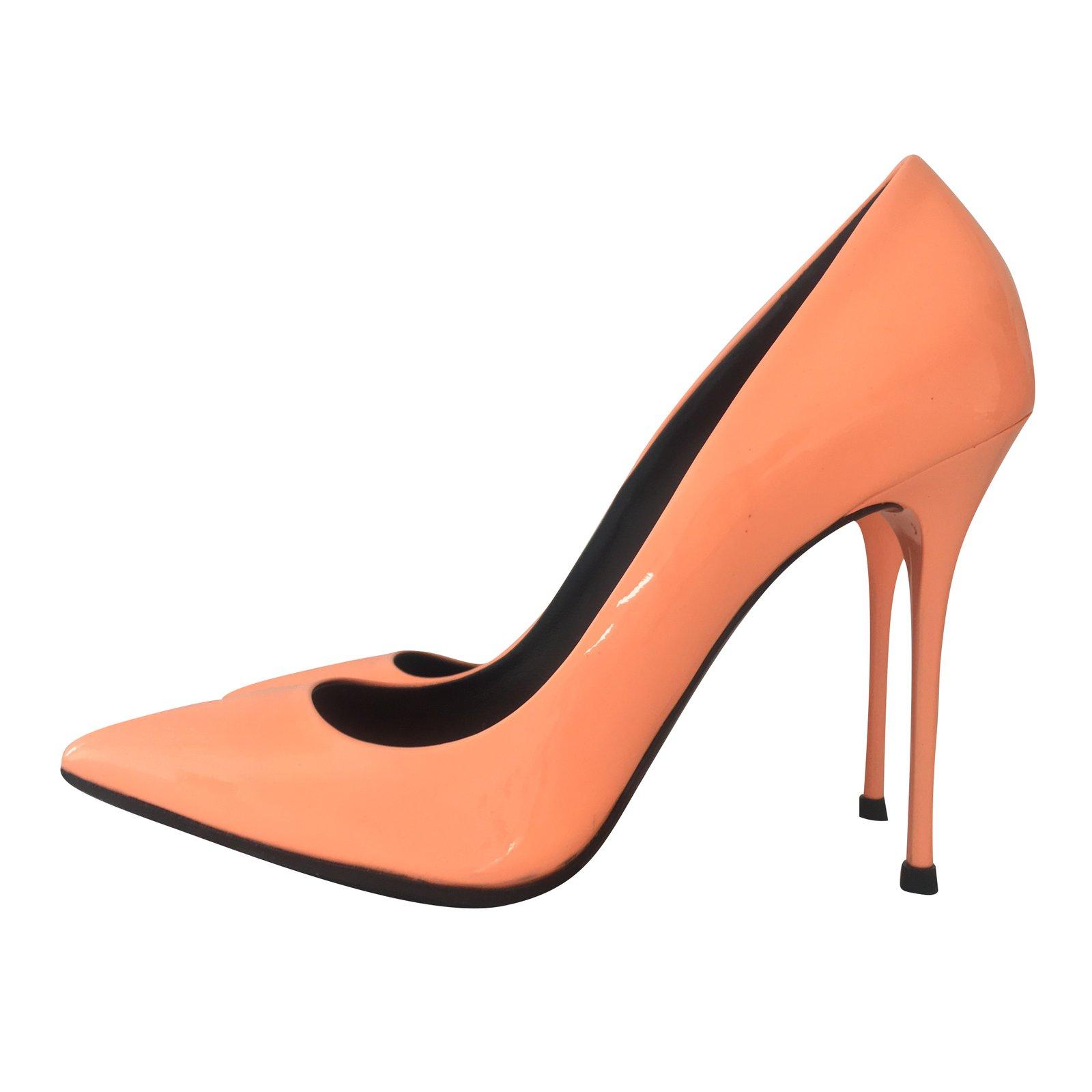 GIANMARCO LORENZI Patent Leather Heels L3udaMZ