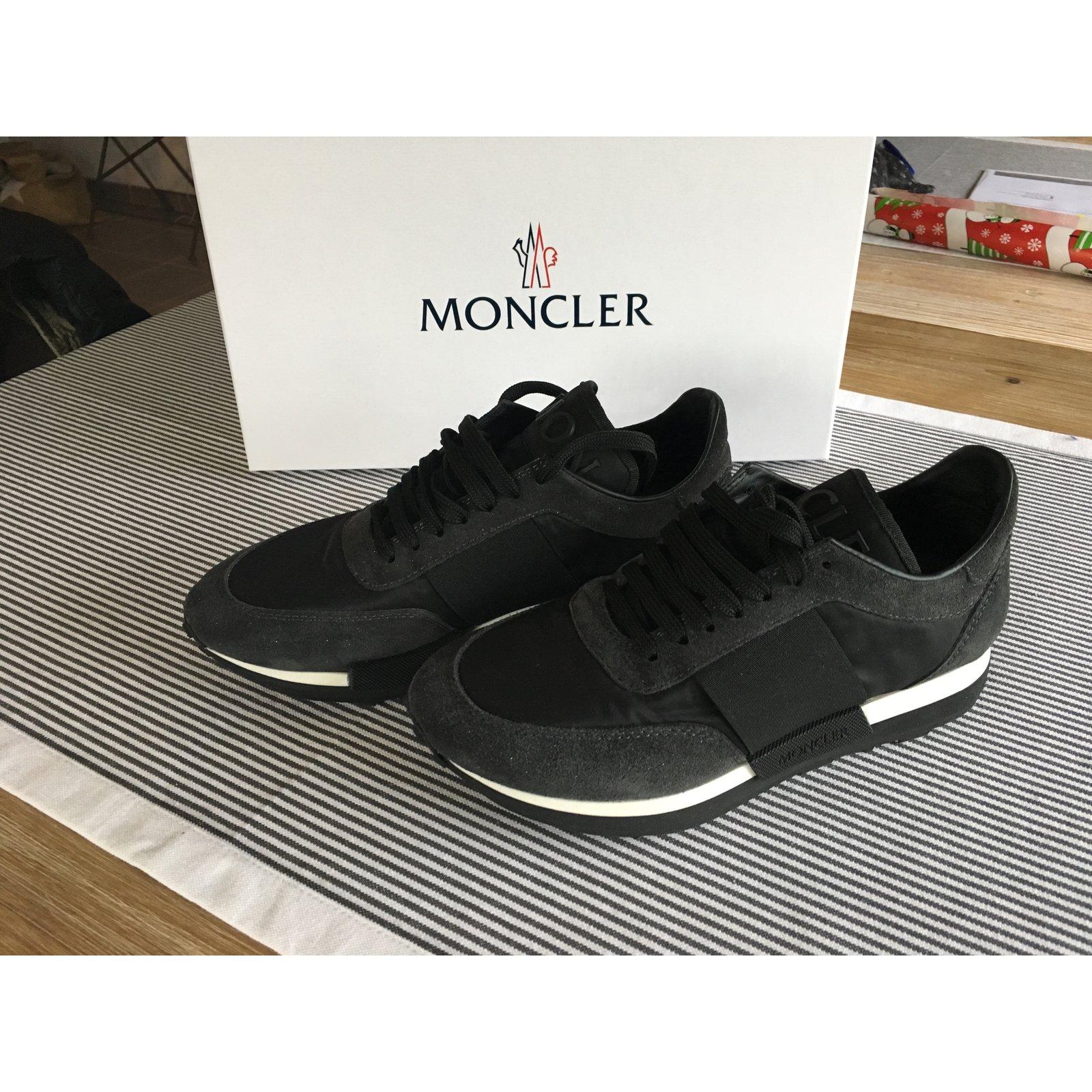 Moncler Louise Sneakers Cloth,Deerskin