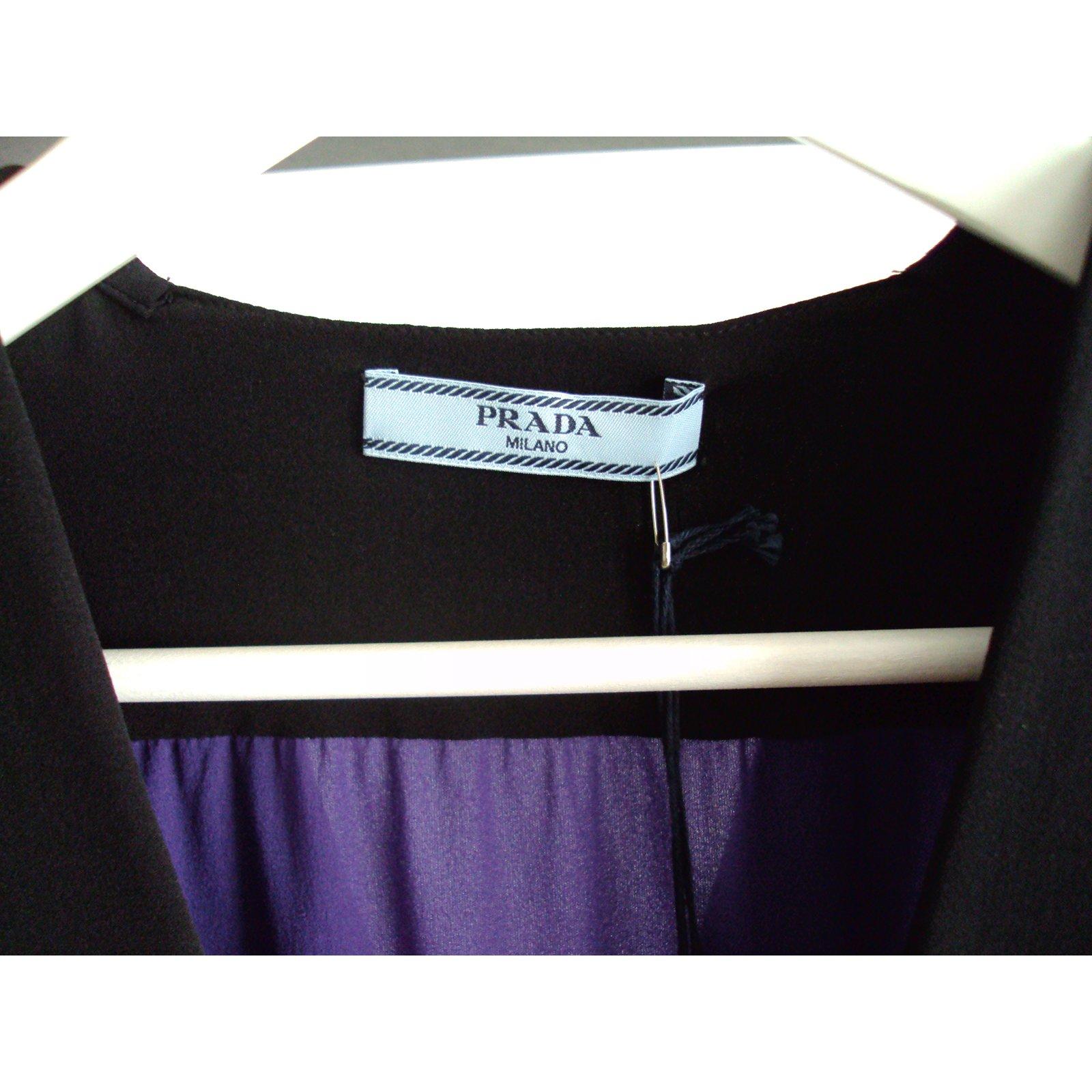 c09009ae36c85a Prada Prada - silk blouse Tops Silk Multiple colors ref.51943 - Joli Closet