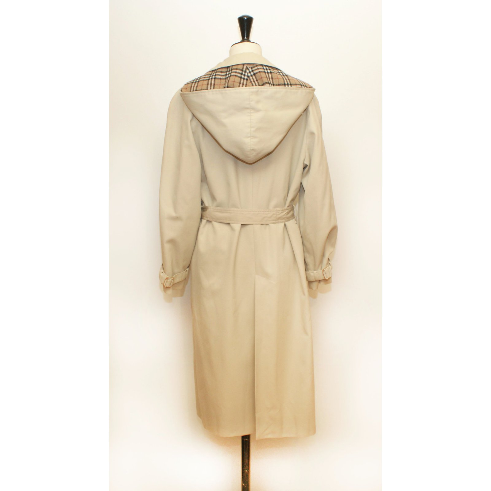 11774a69b0e6 Prorsum Beige Trench Burberry Polyester Coats Coat Vintage dncSnW7wqC