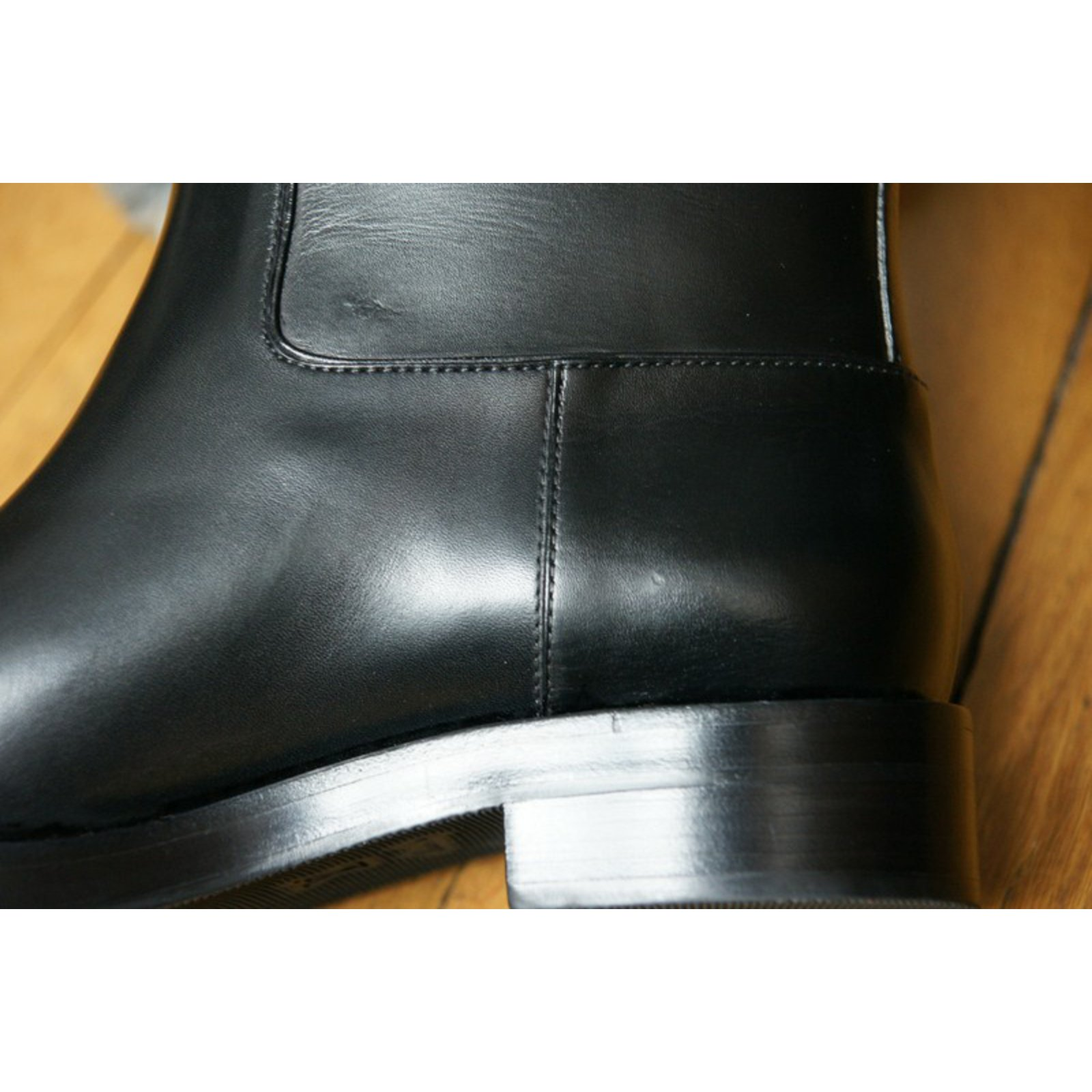 Louis Vuitton Overdrive flat half boot Ankle Boots Leather Black ref.52130  - Joli Closet 88b0bd886d8