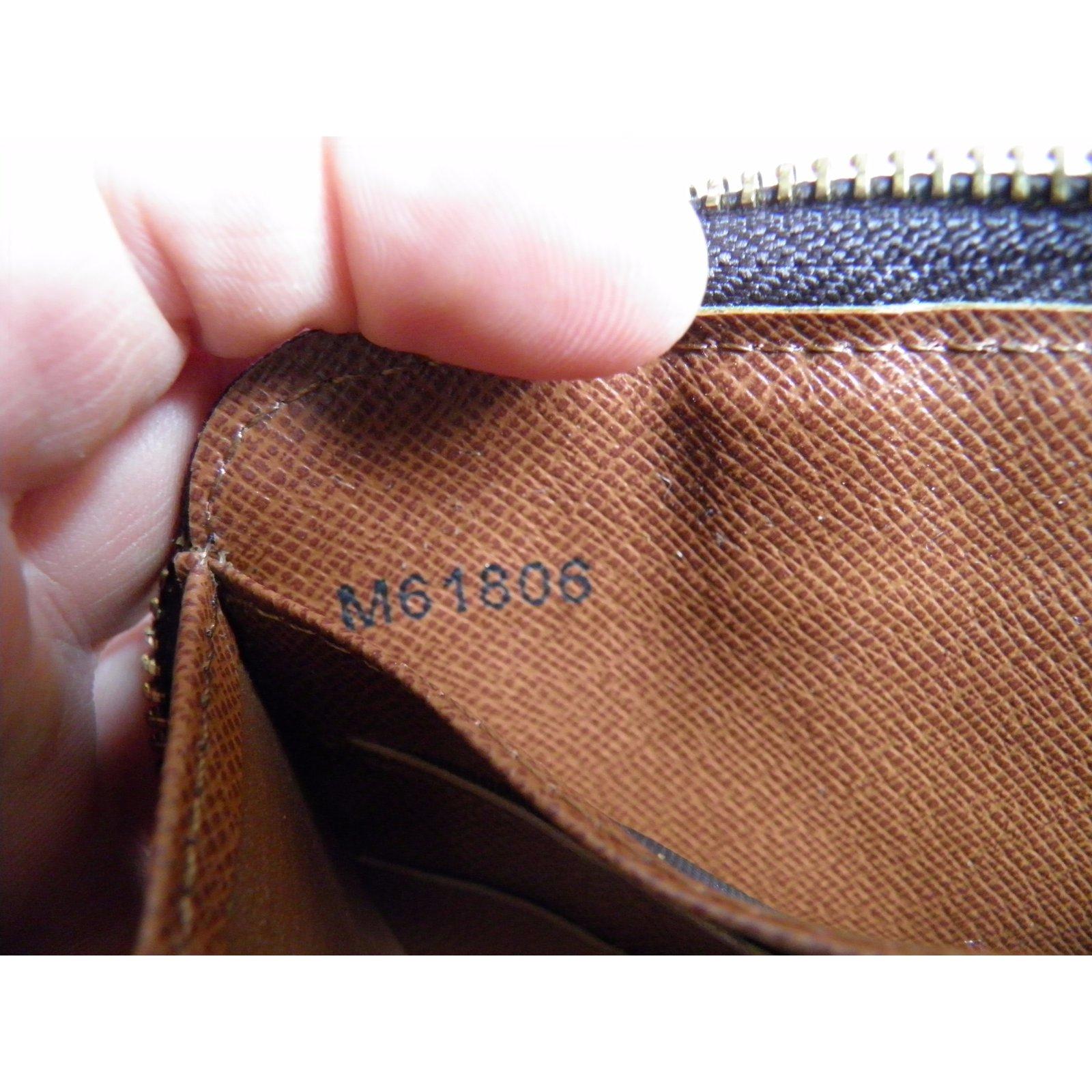 dbfa16536dfb Louis Vuitton wallet on chain Wallets Cloth Brown ref.52236 - Joli Closet