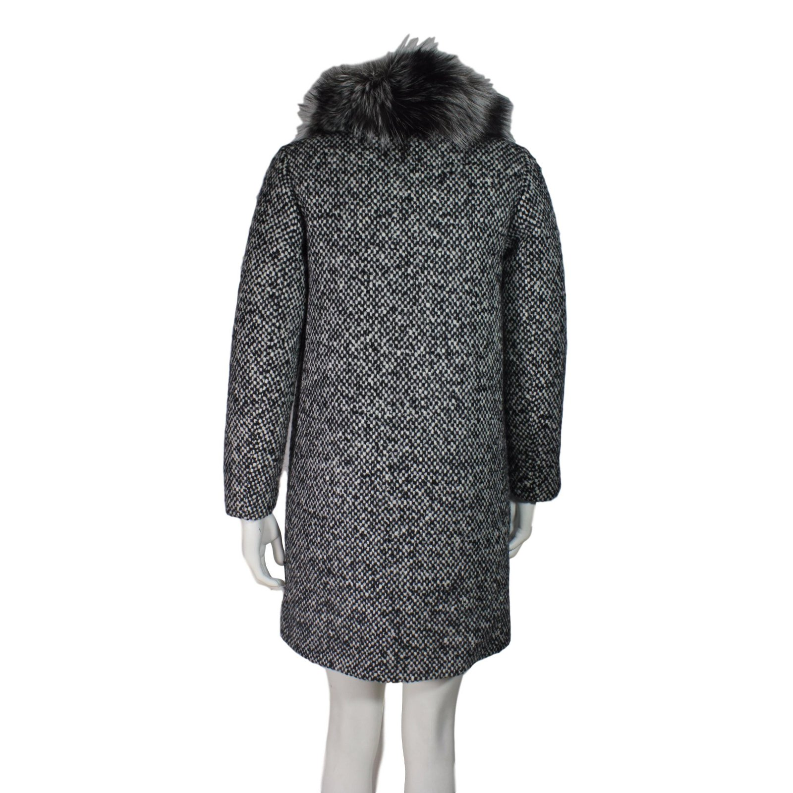 3ad8e2612 Moncler Loth tweed coat