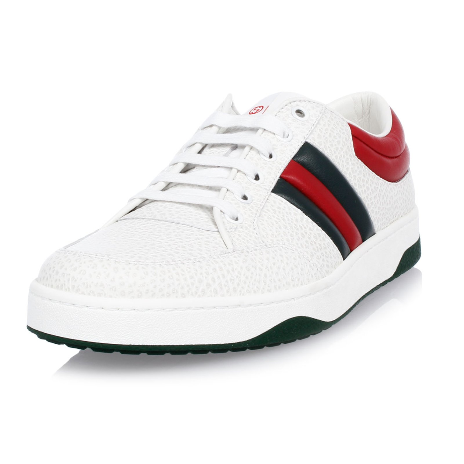 f95a006e258 Gucci Gucci Sneaker new Sneakers Leather White ref.52849 - Joli Closet