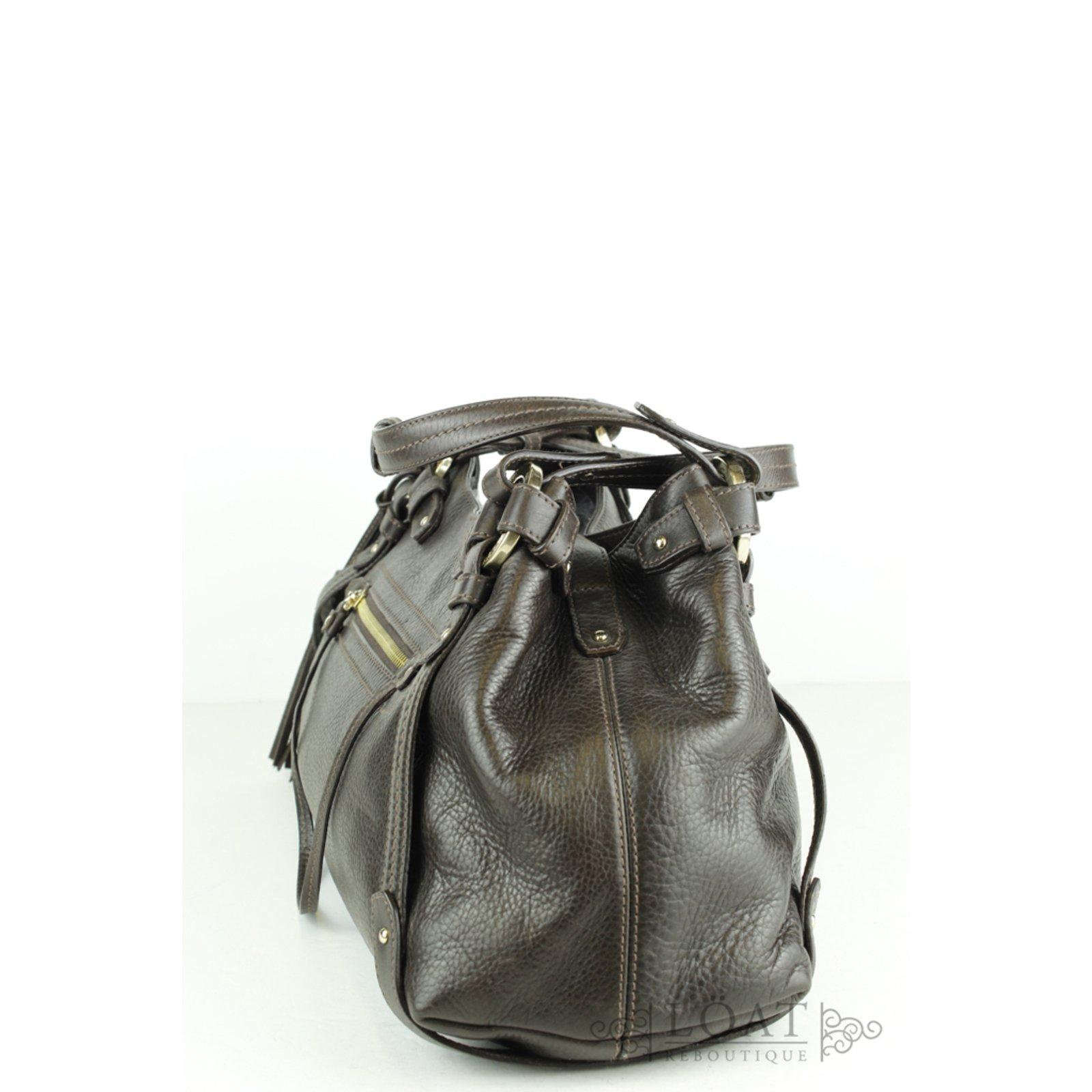 f616ef464a Bally Handbags Handbags Leather Brown ref.53018 - Joli Closet