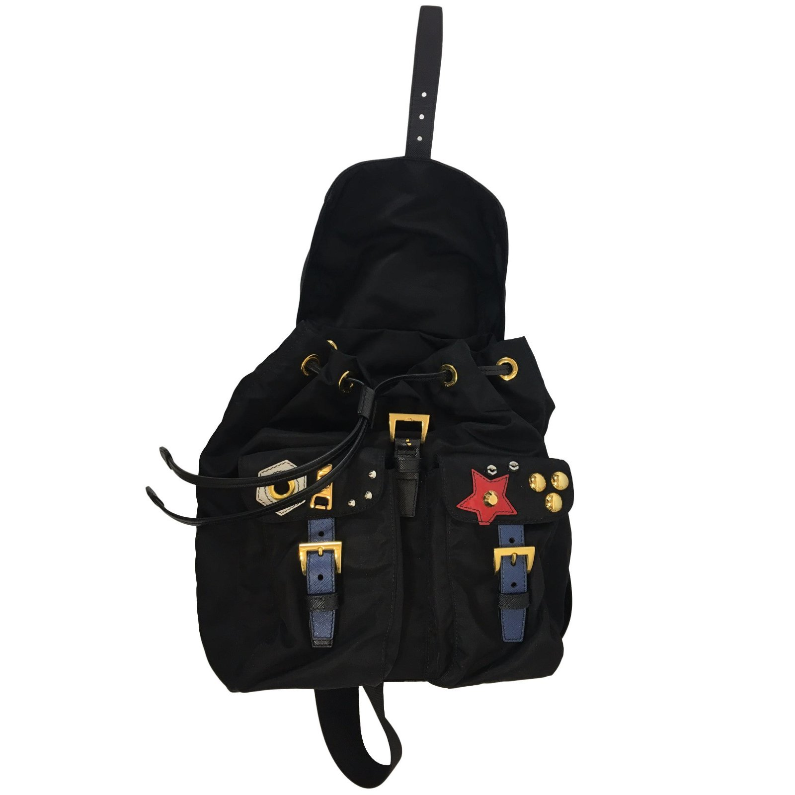 1c4ce1aab1fd ... where to buy prada robot backpack backpacks cloth black ref.54325 joli  closet 293e2 6780a
