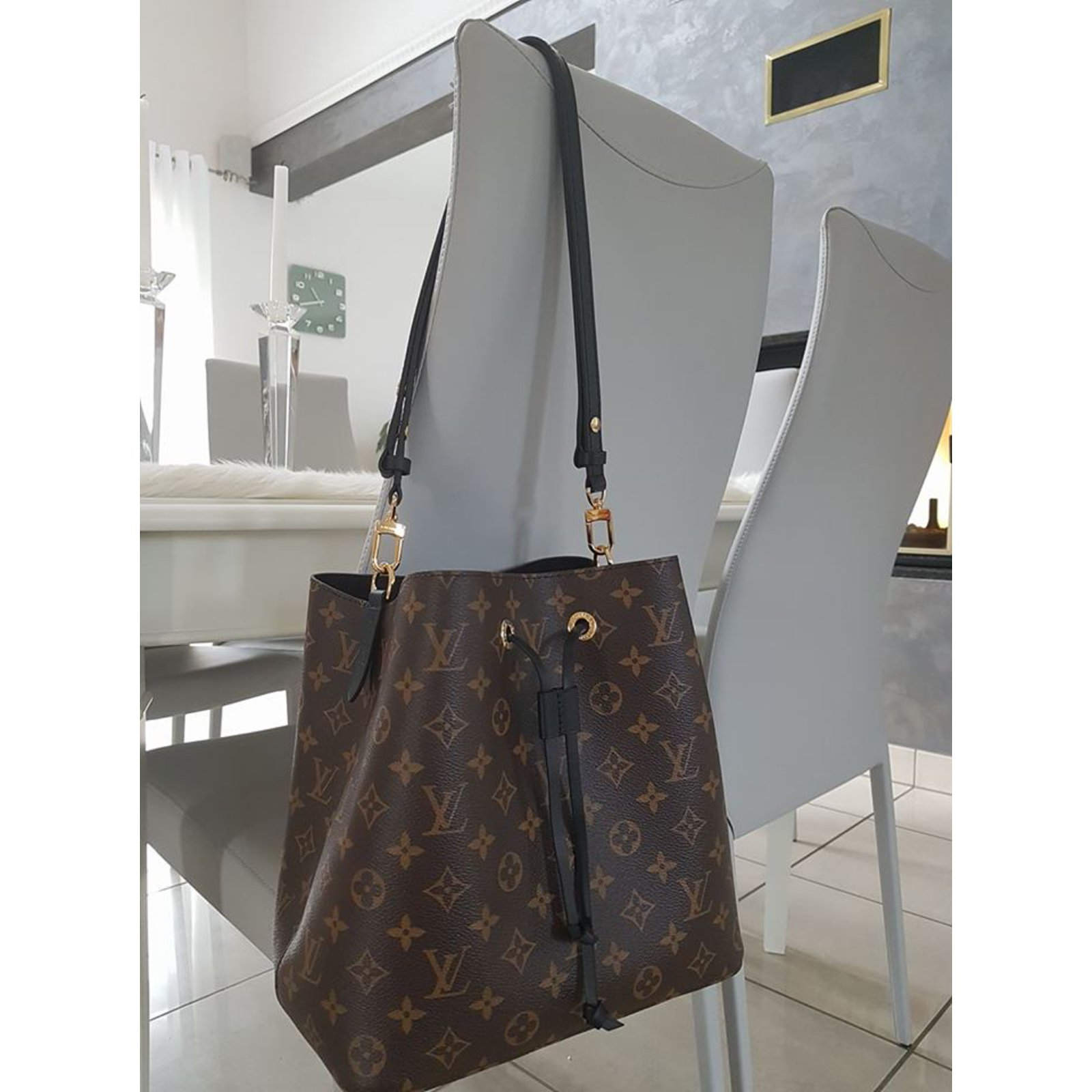 fe6de3d35a97 Facebook · Pin This. Louis Vuitton Noé Bag Handbags Cloth Light brown ref. 54428