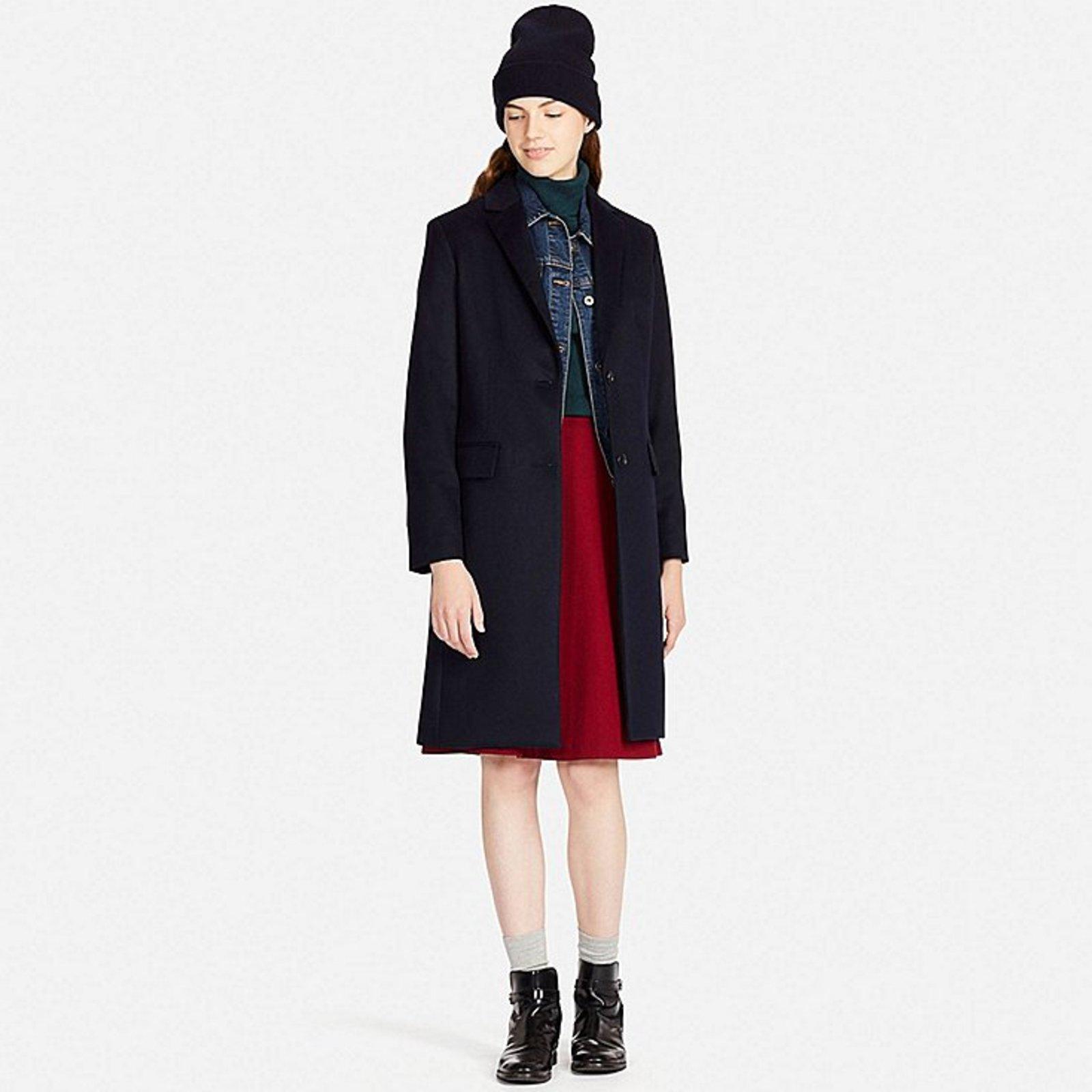 Manteau cachemire femme uniqlo