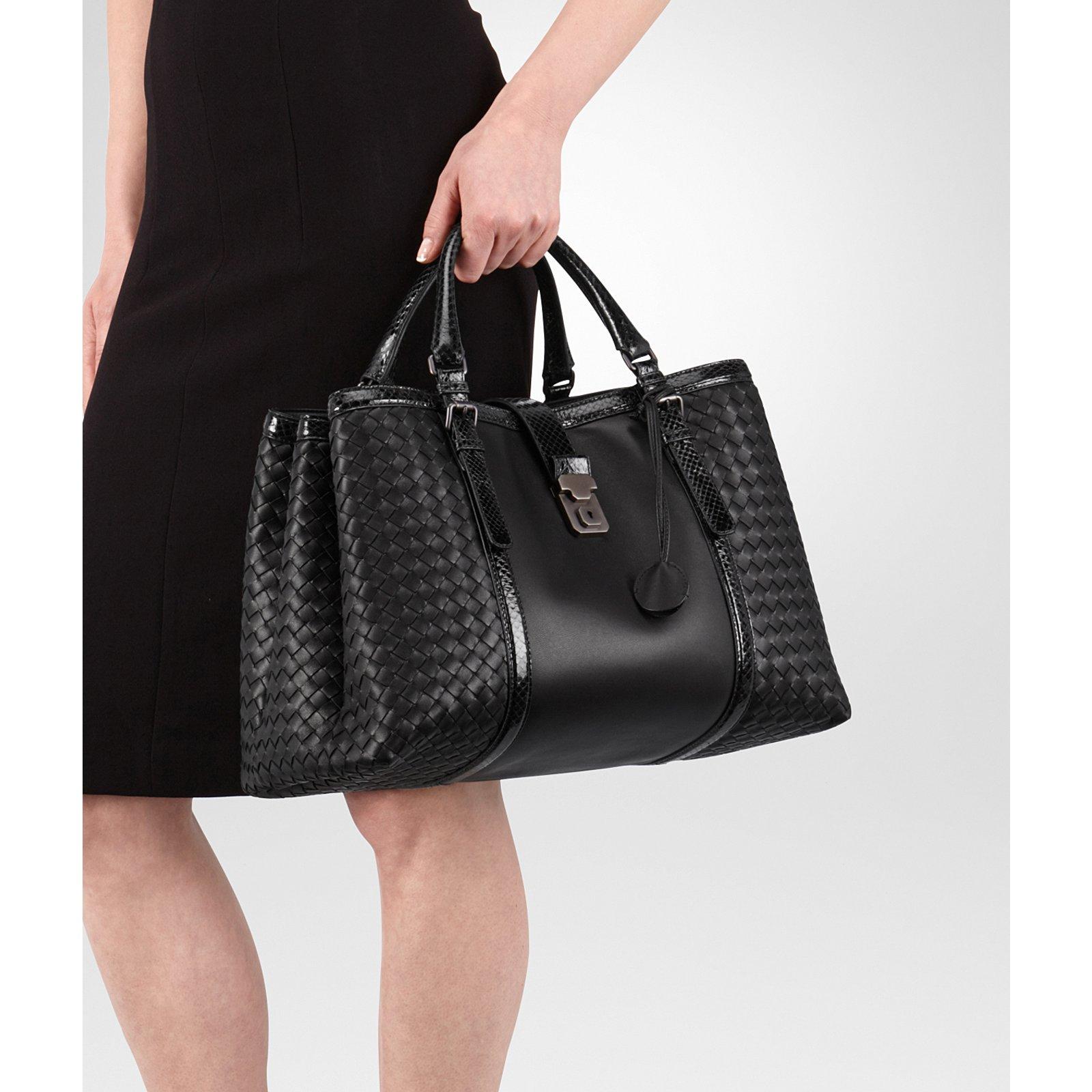 Bottega Veneta AYERS SNAKE AND NAPPA Handbags Leather d267a810cd022