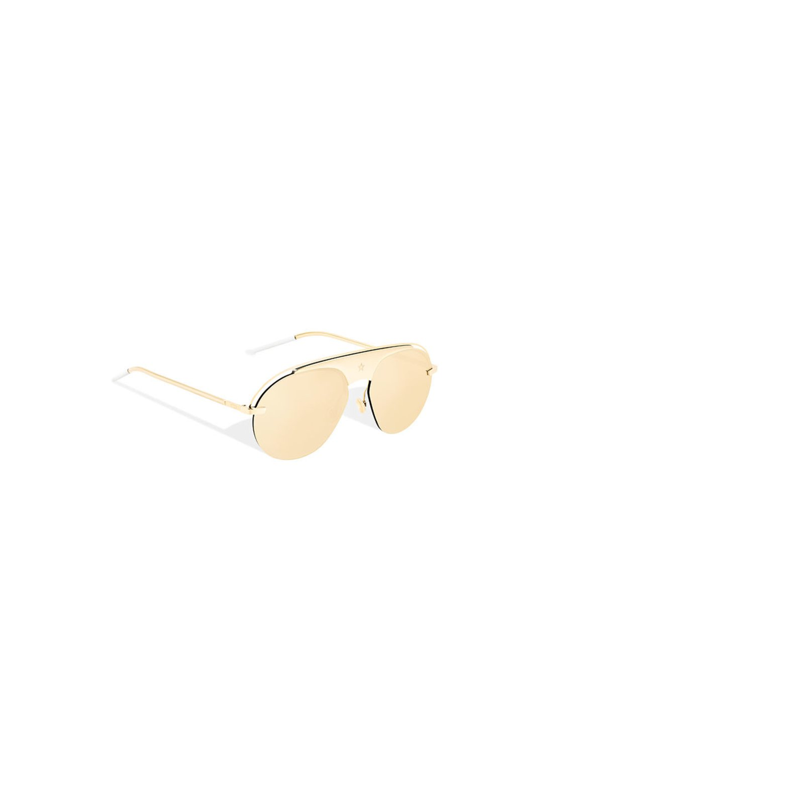 1c0d639bb85 Facebook · Pin This. Christian Dior Dior revolution 2 Sunglasses Metal  Golden ref.50189