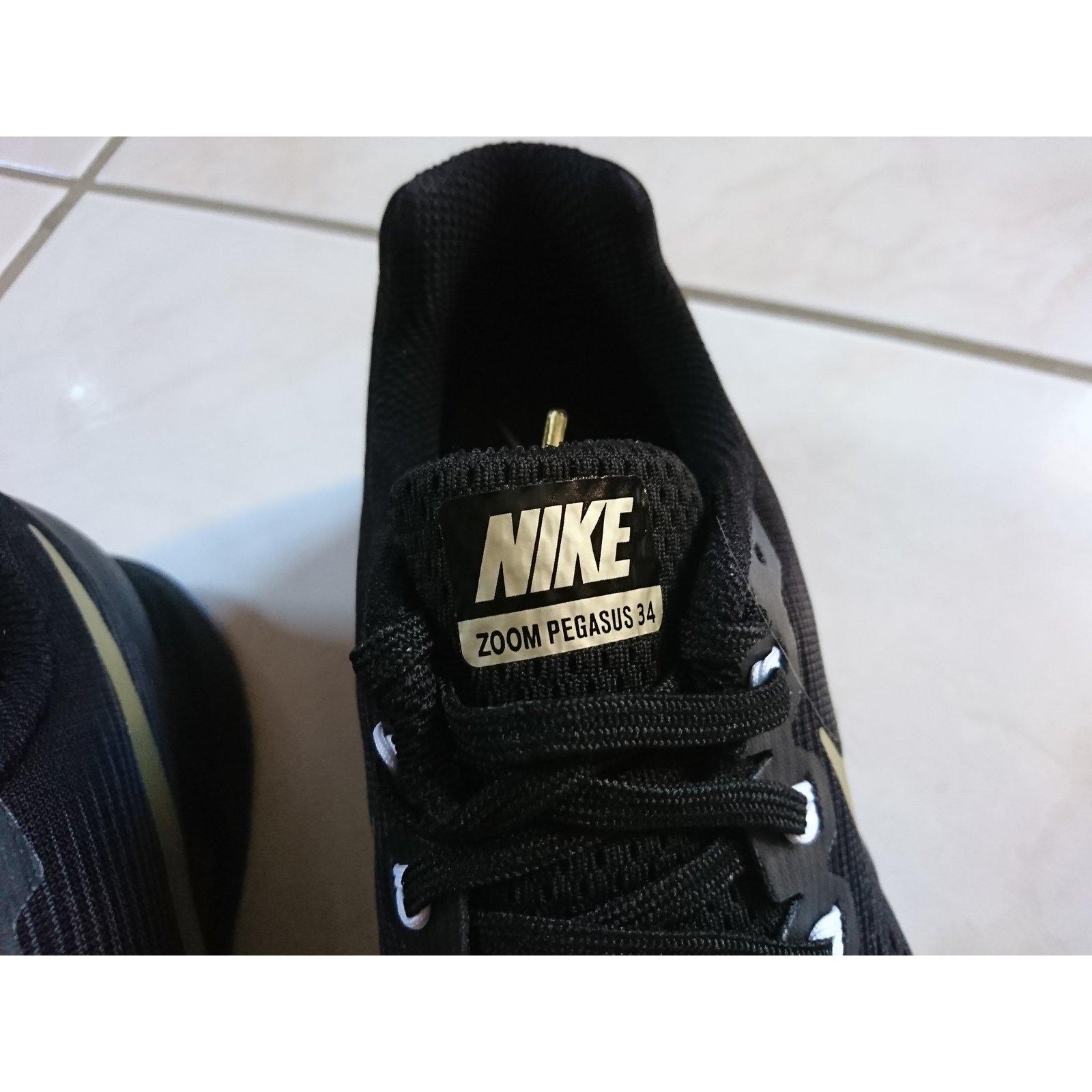 on sale 76600 01aa6 Baskets Nike NIKE AIR ZOOM PEGASUS 34 MEDAL PACK Autre Noir ref.56034 -  Joli Closet