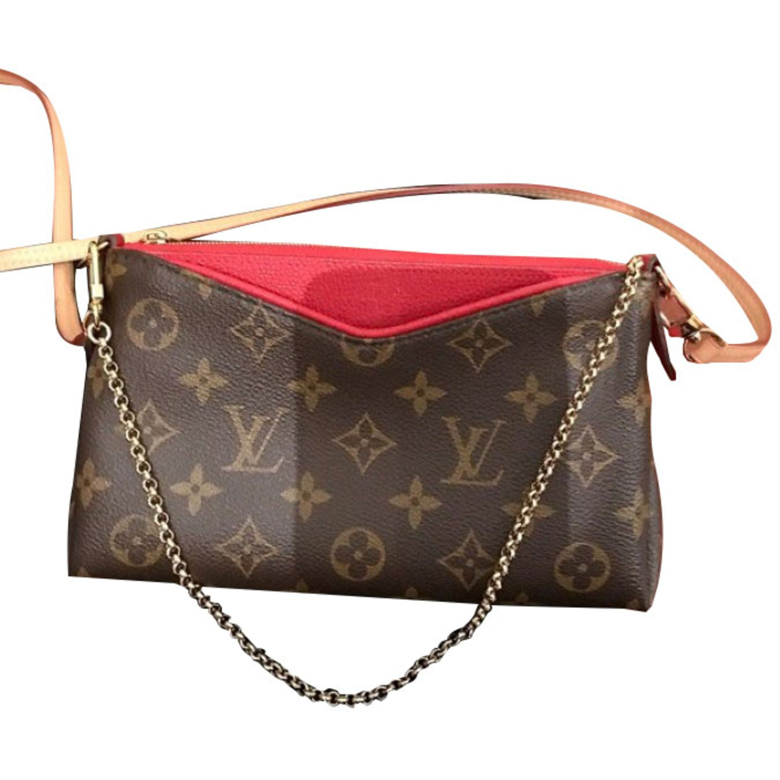 41668ffc2424 Louis Vuitton Pallas Handbags Other Brown
