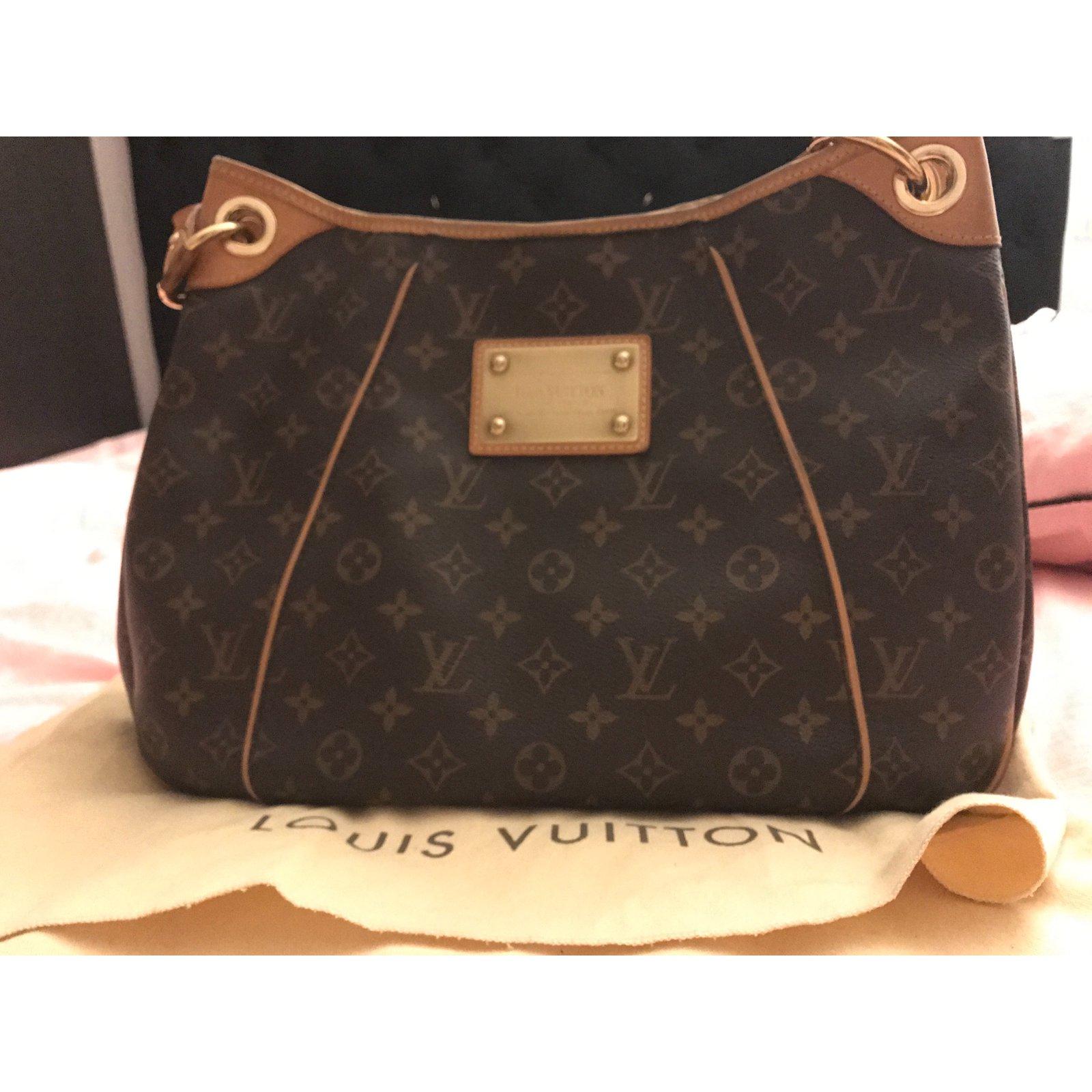 3cd256da18 Sacs à main Louis Vuitton Galliera PM Cuir Marron ref.57580 - Joli Closet