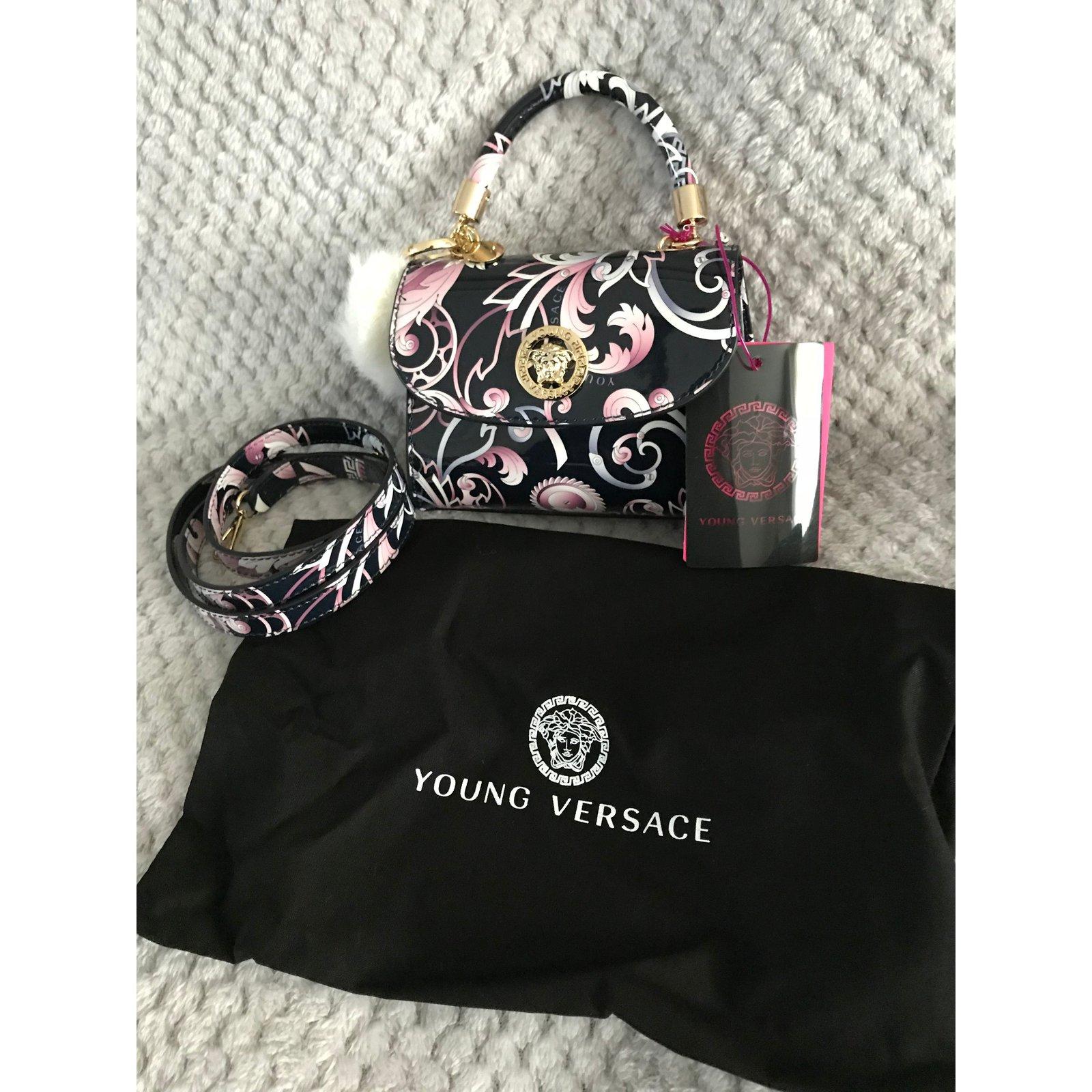 97b95f0730a5 Gianni Versace New Baroque Young Versace bag Handbags Leather Multiple  colors ref.58048 - Joli Closet