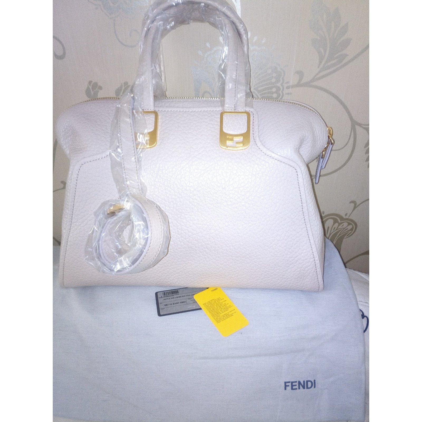 038f35ad8783 ... low price fendi fendi chameleon duffle leather handbag new and never  used handbags leather beige ref ...