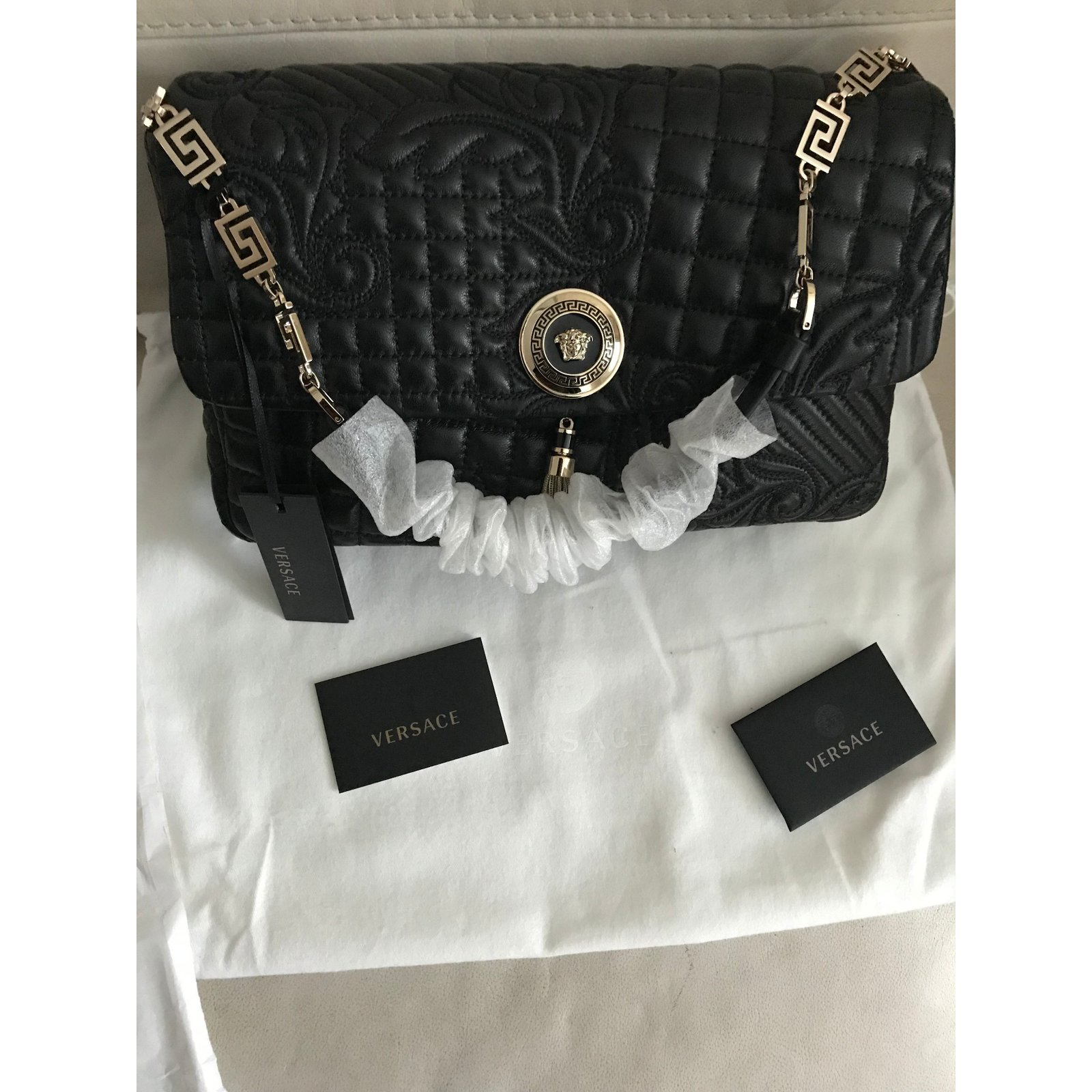 Handbags Gianni Versace Facebook Pin This