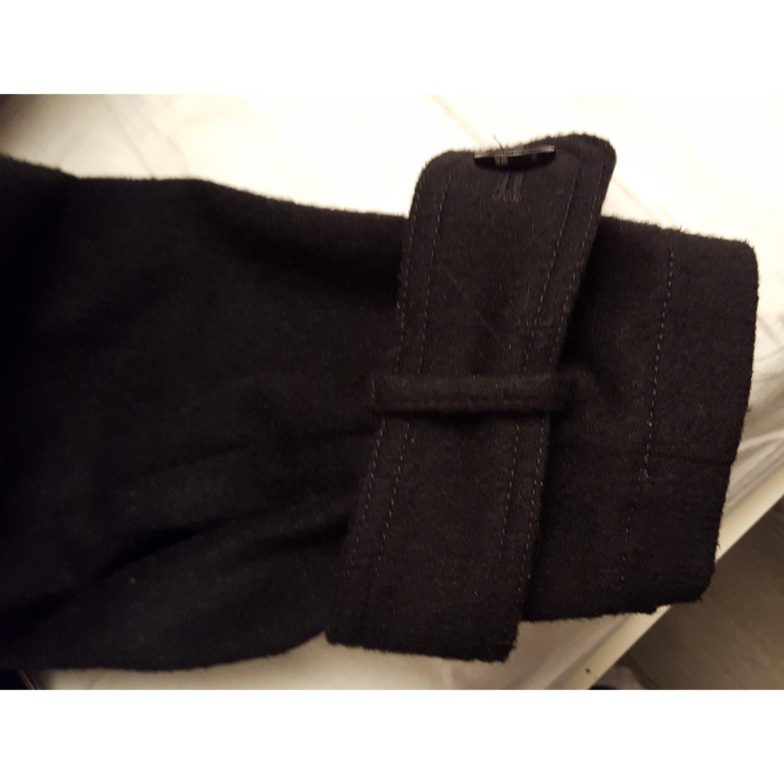 Manteau the Kooples oversize façon trench en drap de laine