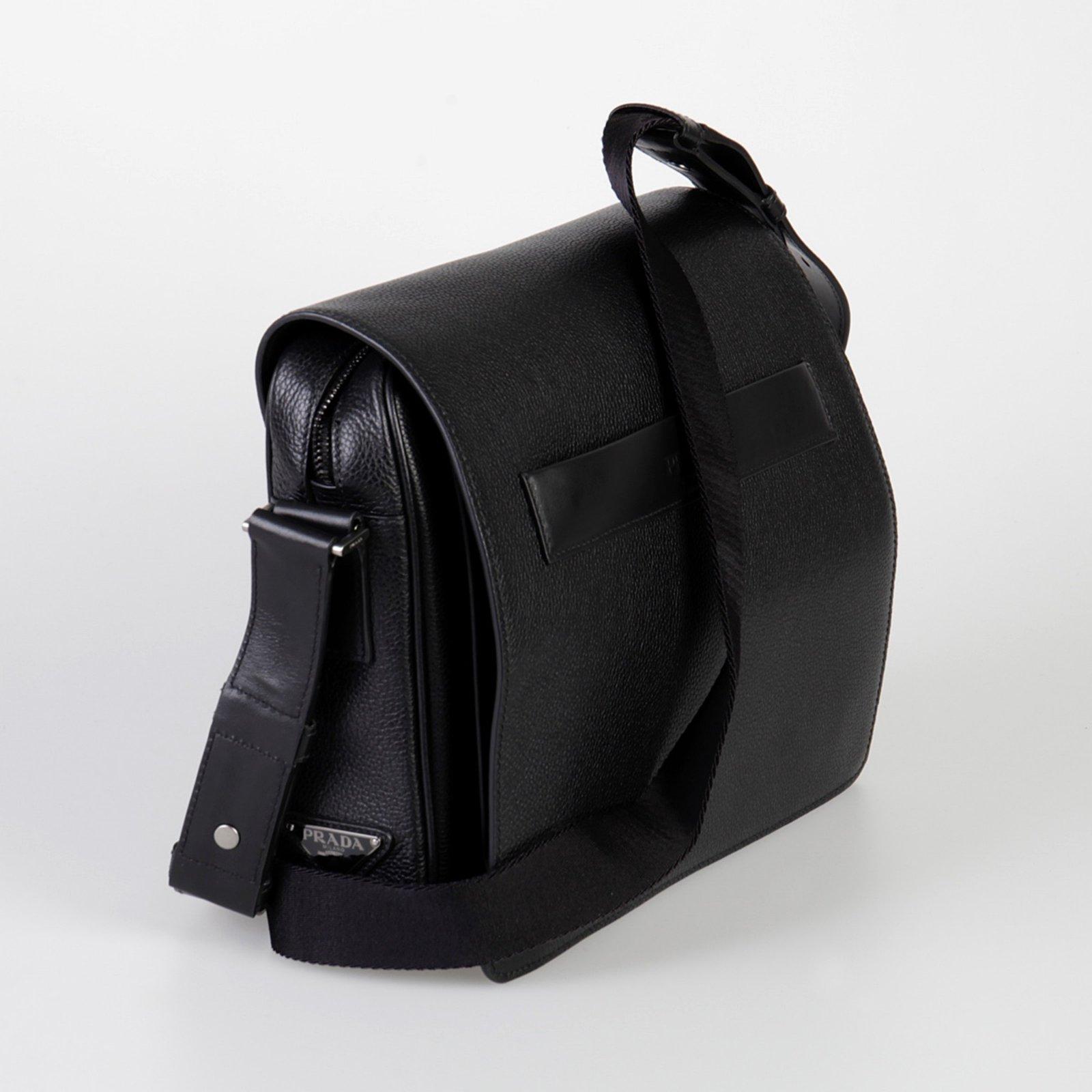 bb5bb1dbdf82 ... greece prada prada messenger bags briefcases leather black ref.59708 joli  closet 3531f 782a7