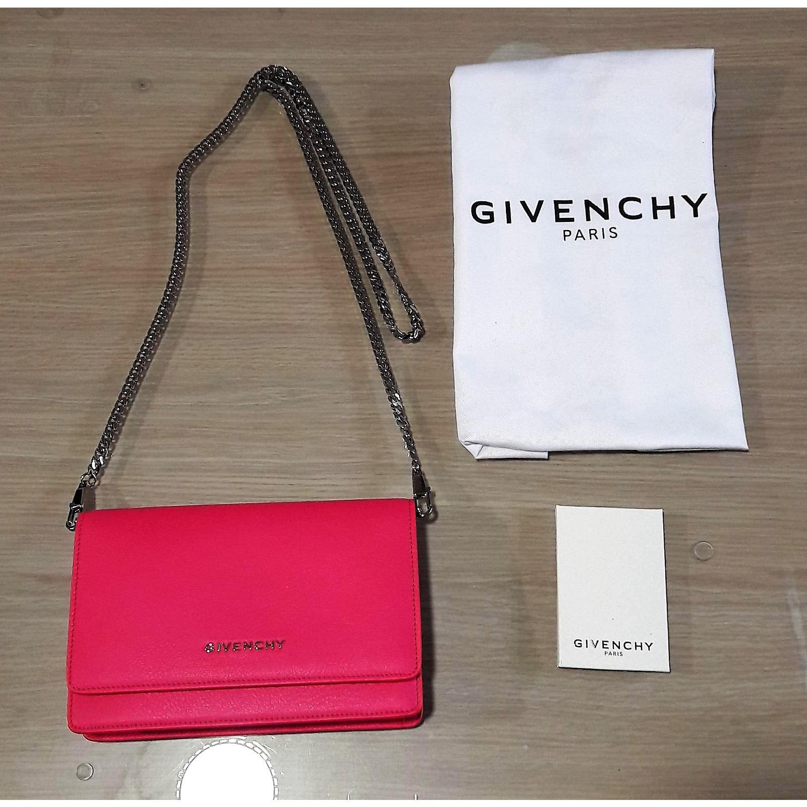 cffeb3b7dcb Sacs à main Givenchy Pandora Chain Wallet Cuir Autre ref.59734 - Joli Closet