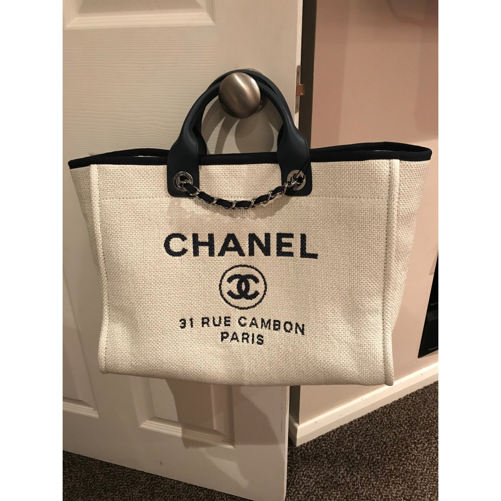 bdfeff8026af Chanel Deauville Tote Colors | Stanford Center for Opportunity ...
