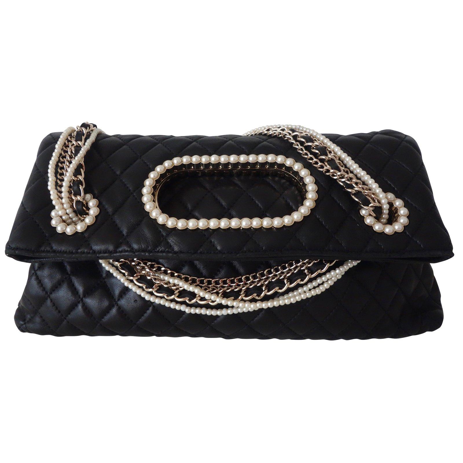 65480a447071 Chanel WESTMINSTER Handbags Handbags Leather Black ref.60229 - Joli Closet