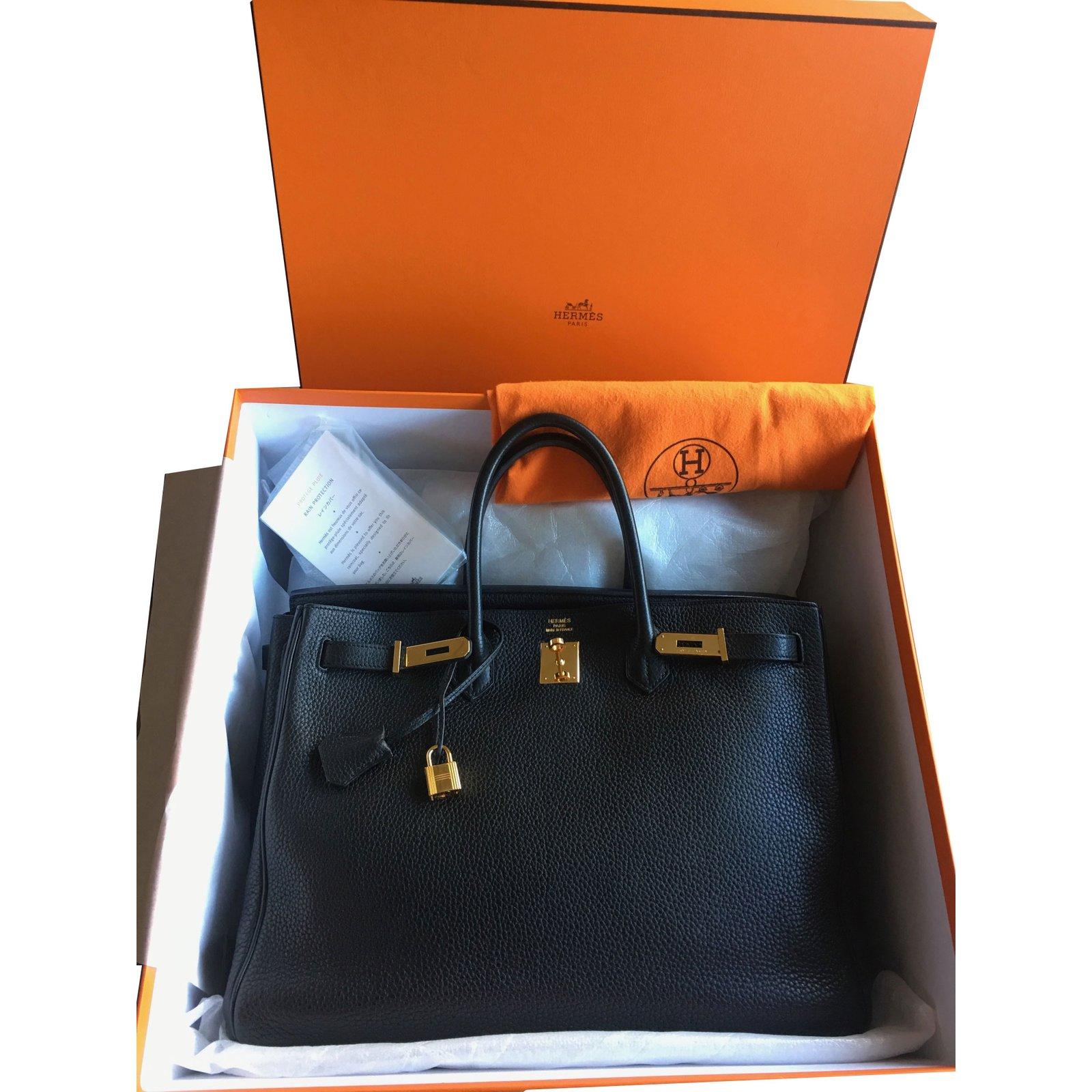 0f47eb9b2ee Sacs à main Hermès Birkin 40 Togo noir