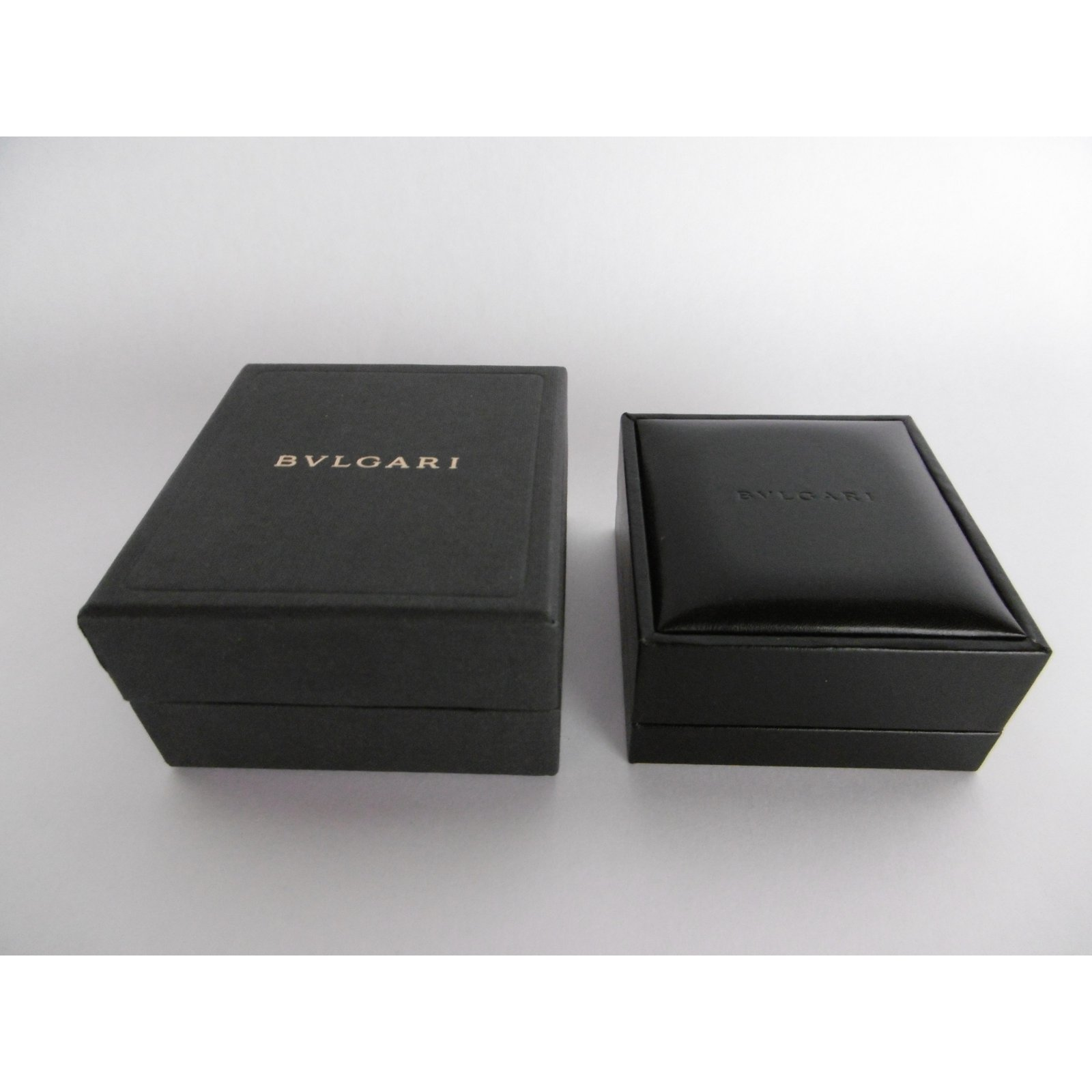 Bulgari Bulgari Earrings Jewelry Box Inner Box and Outer Box Misc