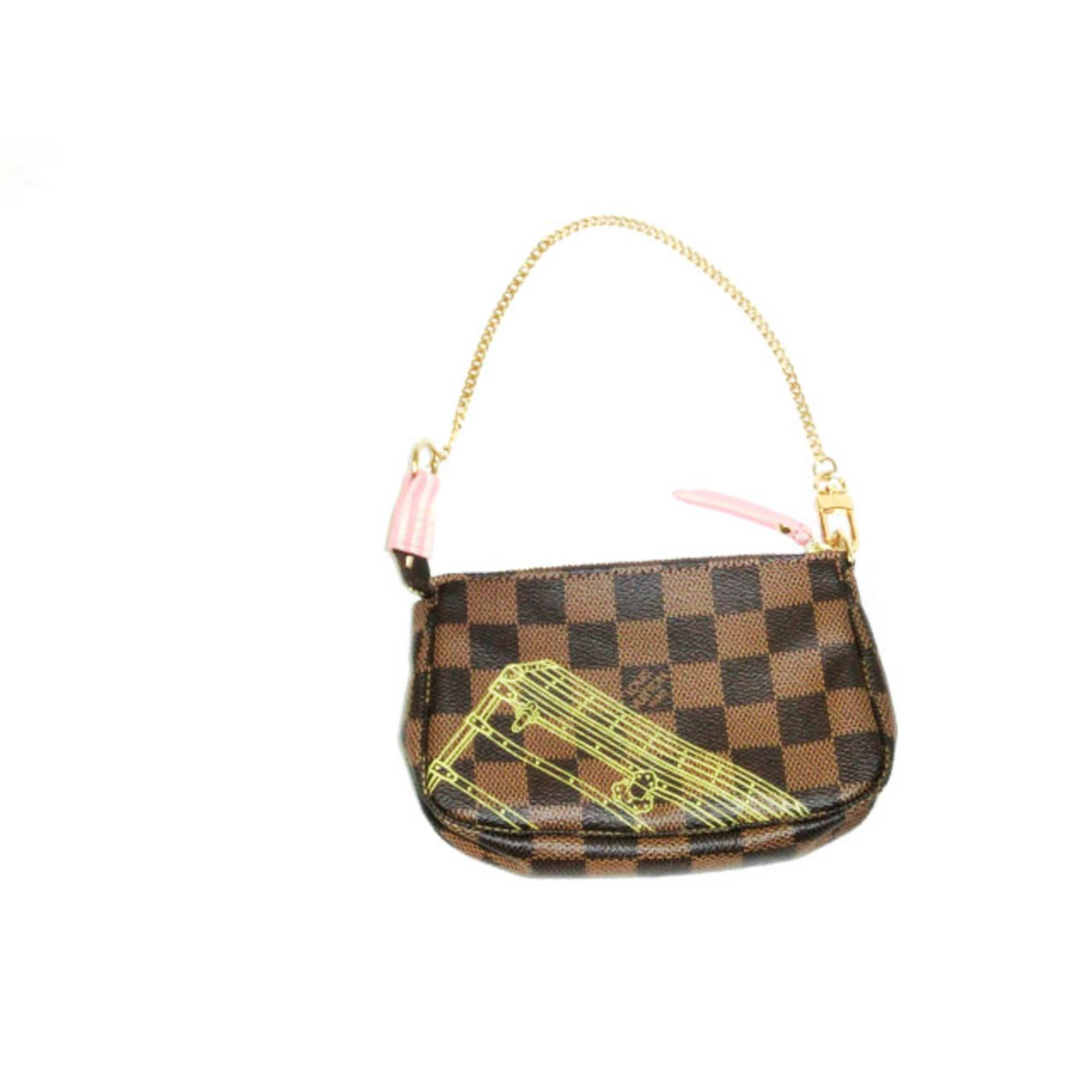 358575648d1 Louis Vuitton, Louis Vuitton Mini Pochette Accessoires Christmas Animation  2014 Limited Edition