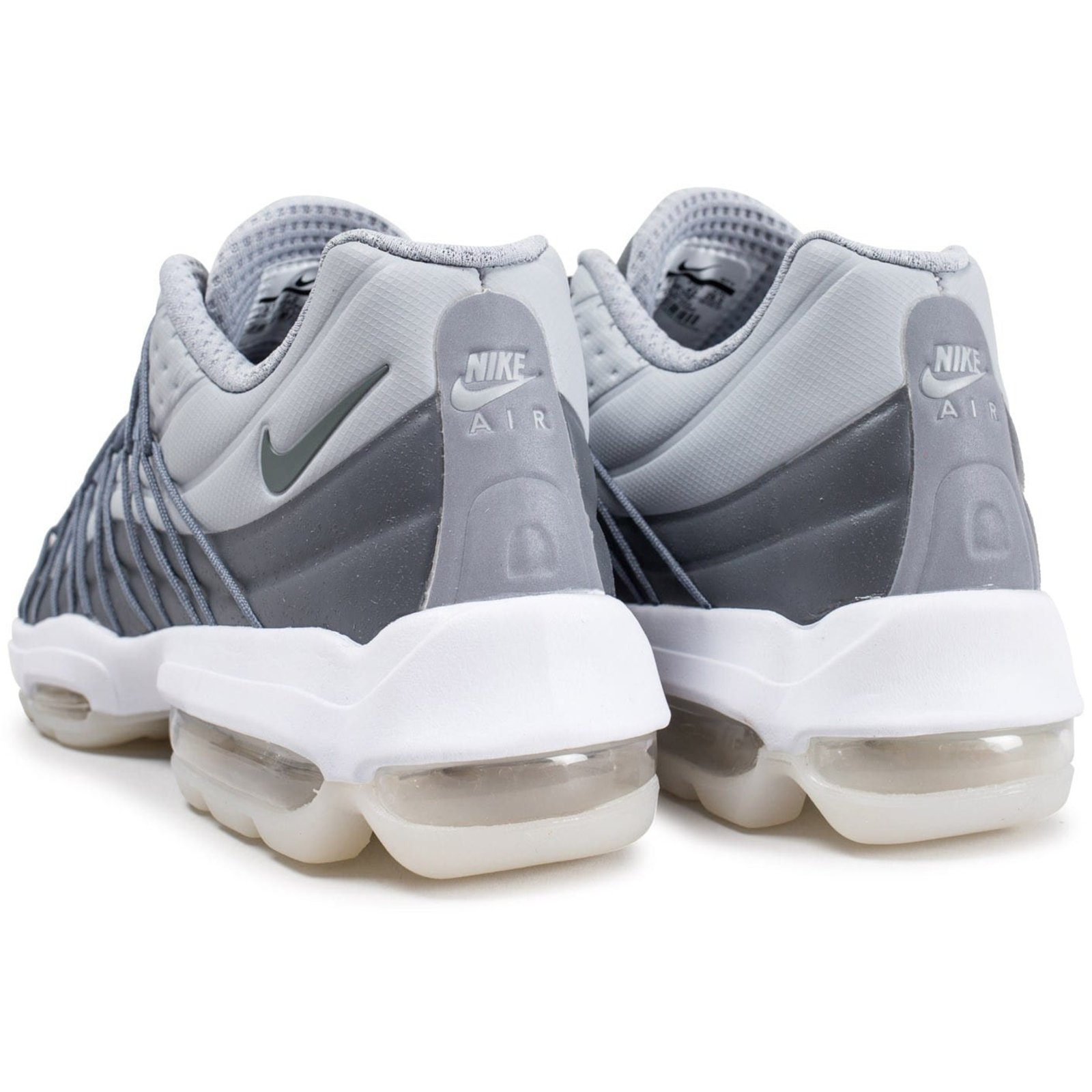 547eb4e1e141 Nike Air max 95 ultra Sneakers Sneakers Rubber Grey ref.61213 - Joli Closet