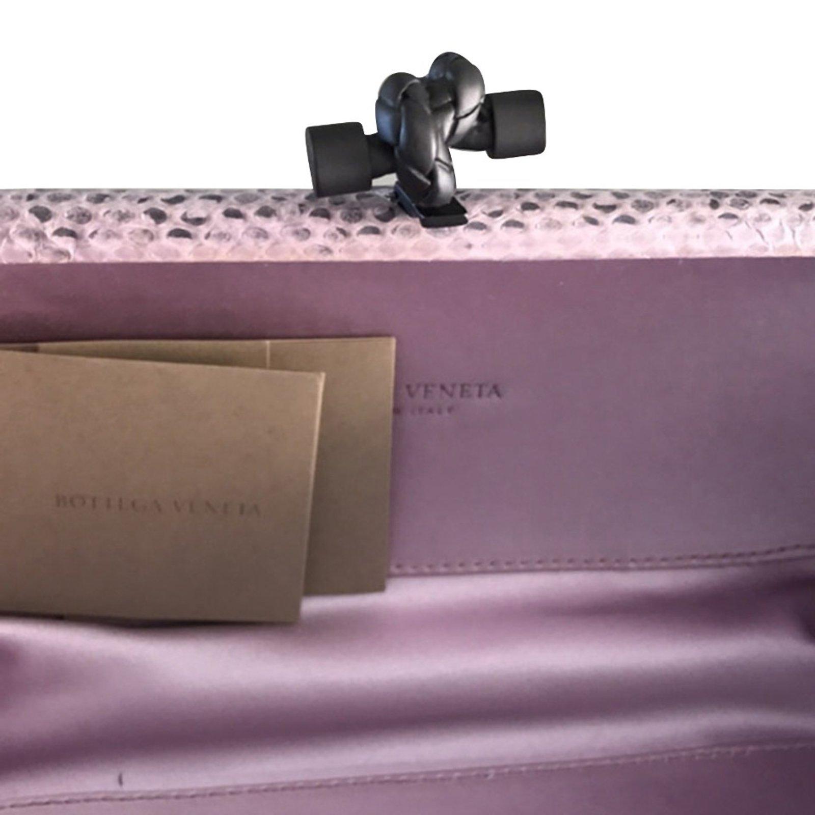17ea6d6f7b Bottega Veneta KNOT Clutch bags Exotic leather
