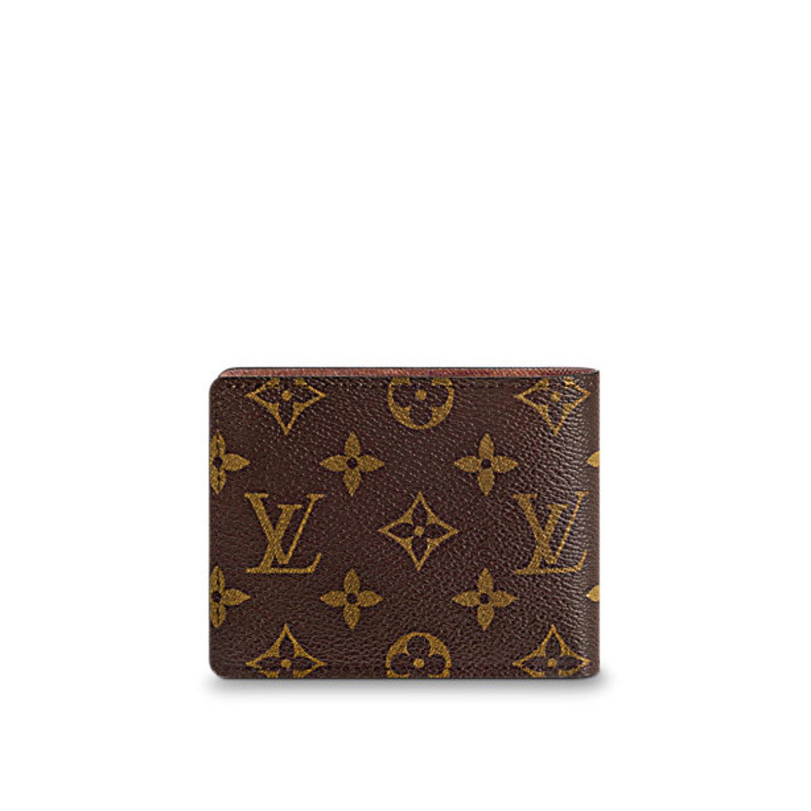 5f0ee0679eb Louis Vuitton Wallets Small accessories Wallets Small accessories Leather  Brown ref.63146 - Joli Closet