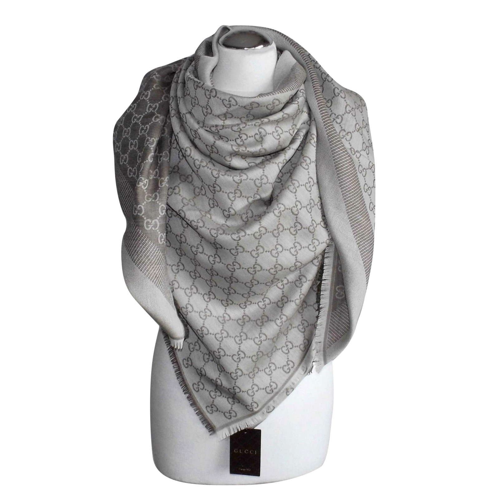 f1c598c07e6c Gucci ggeweb gucci. new scarf Scarves Silk,Wool Multiple colors ref.63261 -  Joli Closet
