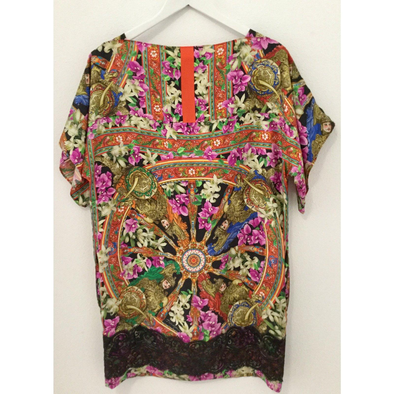 53540bdb Dolce & Gabbana Dresses Dresses Silk Multiple colors ref.63435 ...