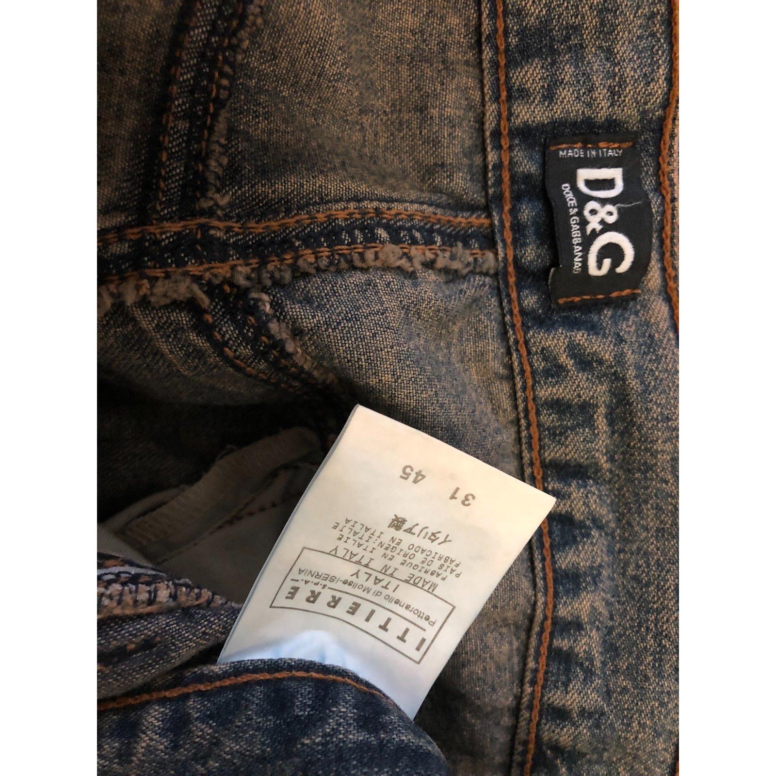 Joli Gabbana Dolce Vestes Coton Closet Ref amp; Et Veste Jeans 64233 Kaki 4gqOw